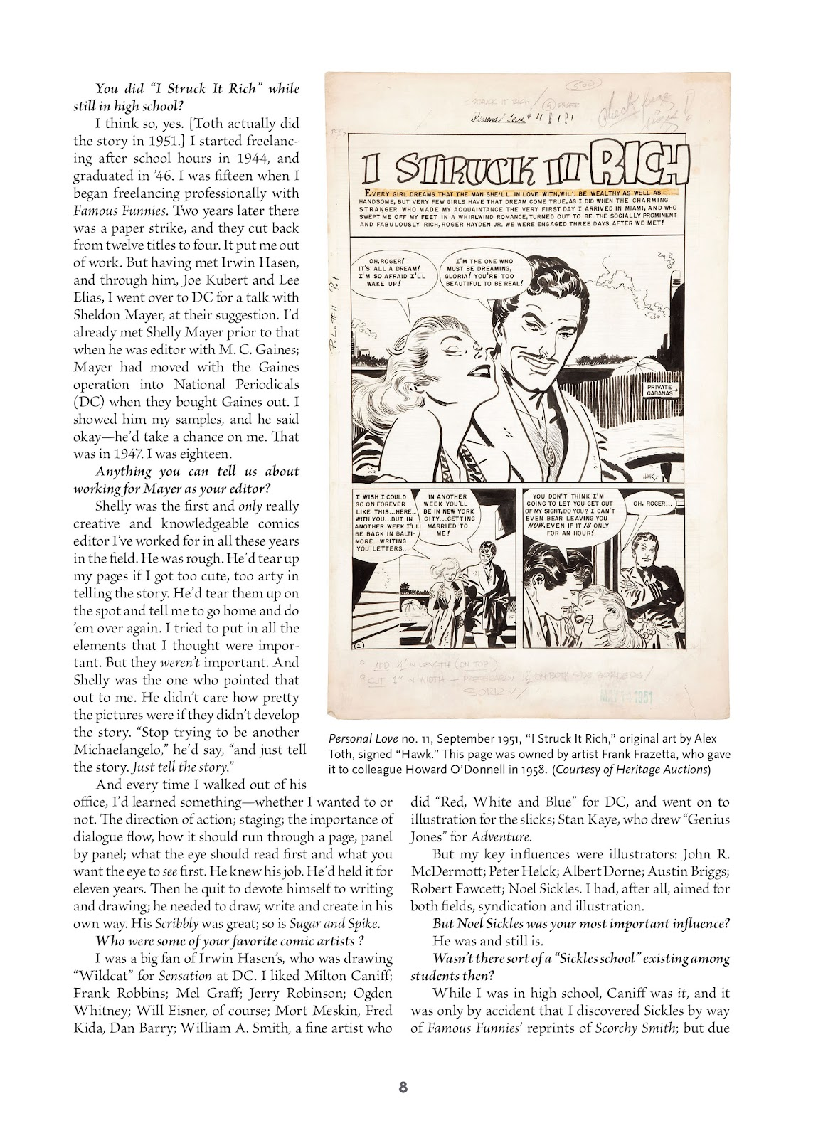 Read online Setting the Standard: Comics by Alex Toth 1952-1954 comic -  Issue # TPB (Part 1) - 7
