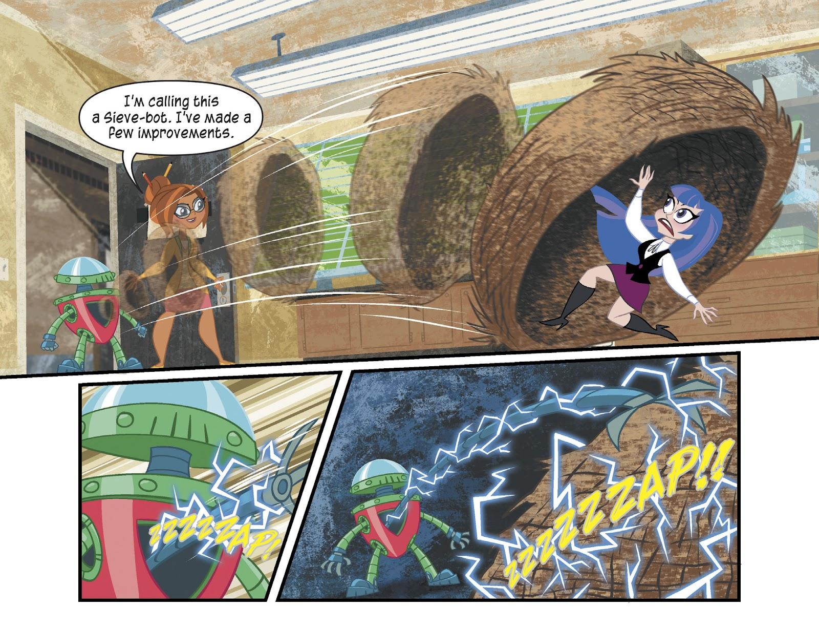 Read online DC Super Hero Girls: Weird Science comic -  Issue #13 - 6