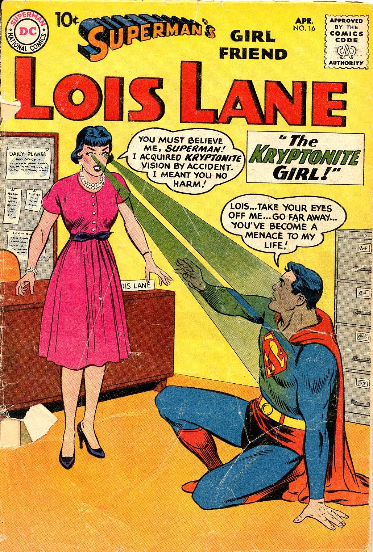 Supermans Girl Friend, Lois Lane 16 Page 1