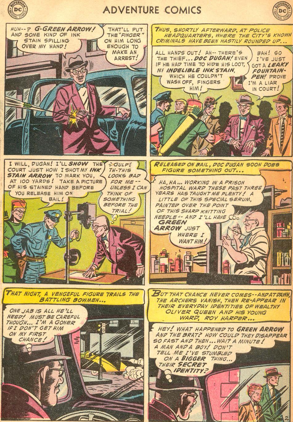 Read online Adventure Comics (1938) comic -  Issue #200 - 35