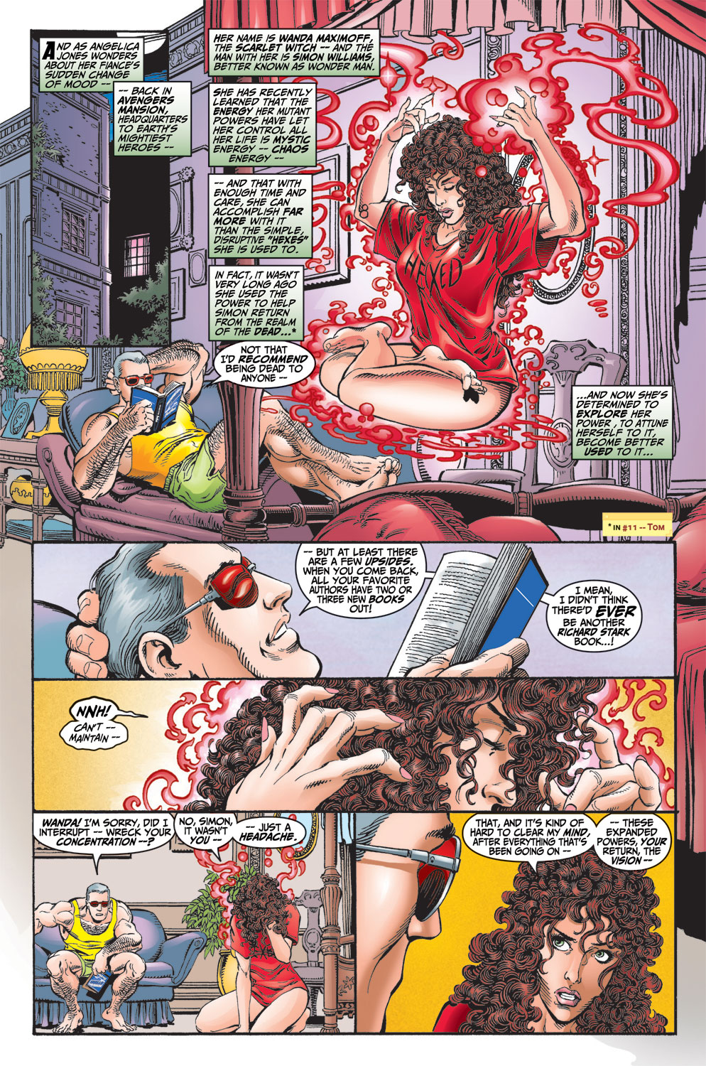 Read online Avengers (1998) comic -  Issue #13 - 4