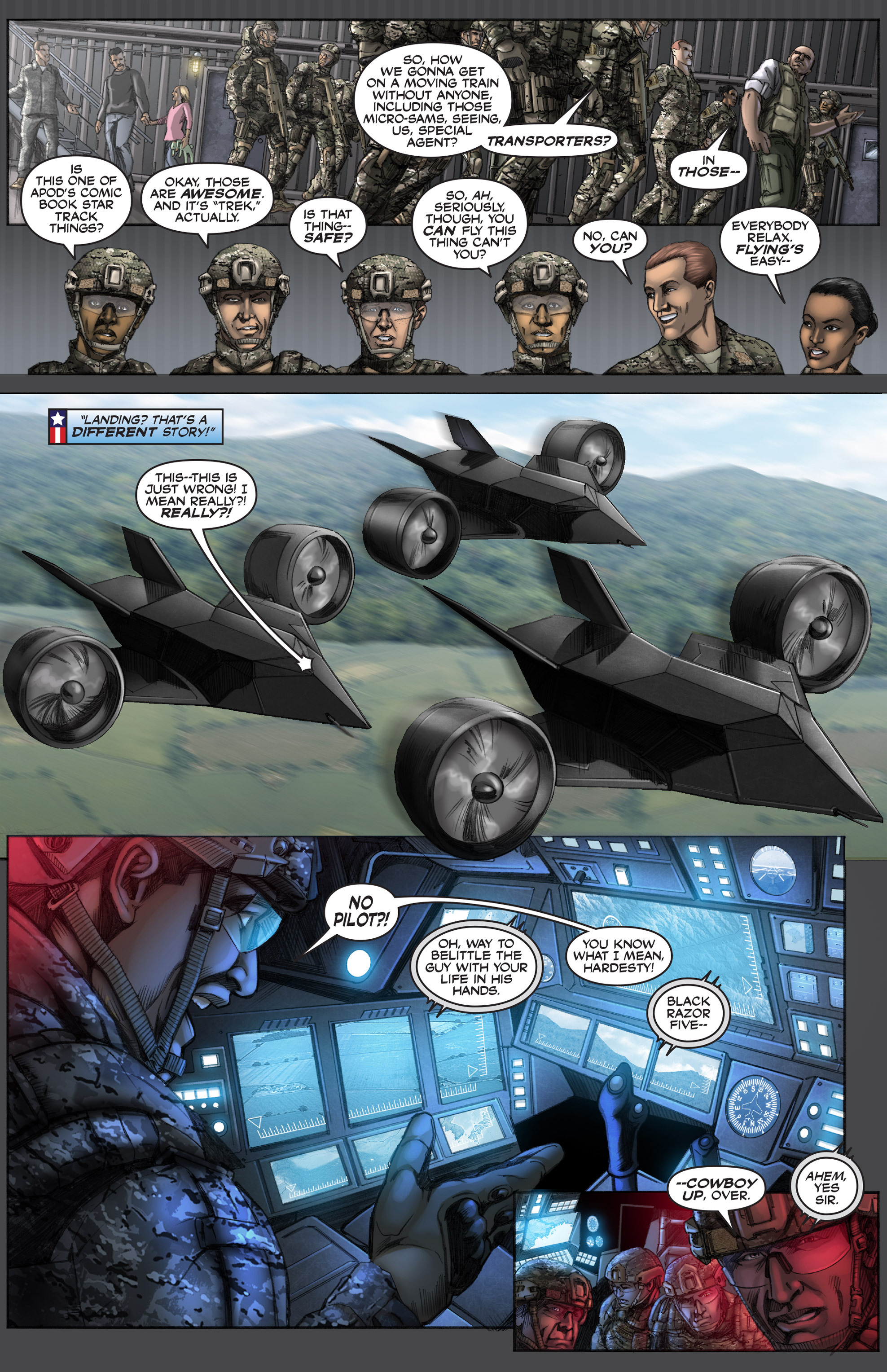 Read online America's Army comic -  Issue #12 - 6