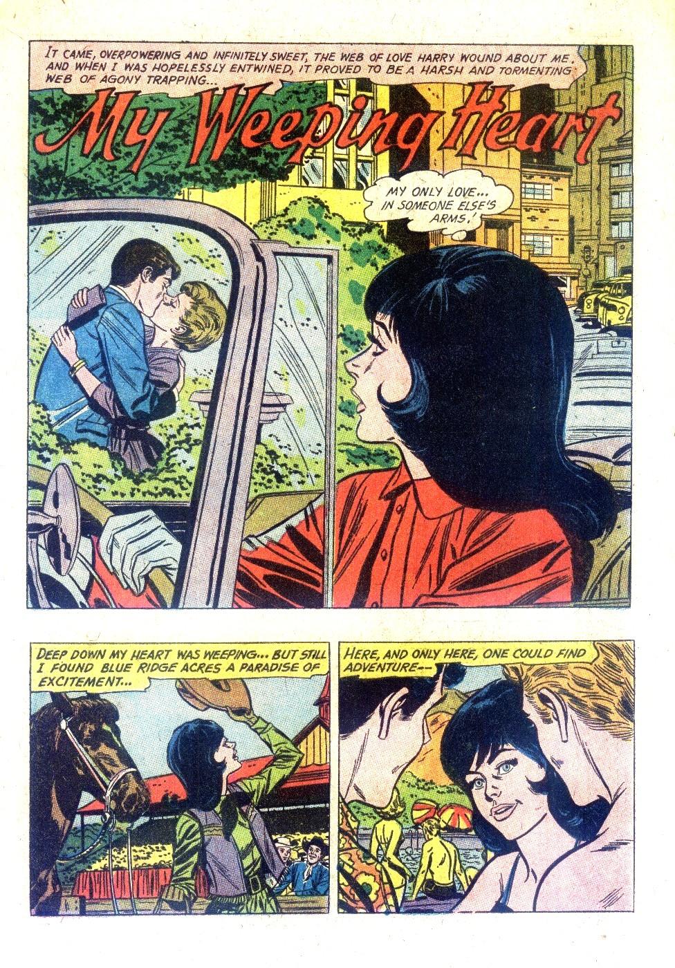 Read online Secret Hearts comic -  Issue #128 - 9