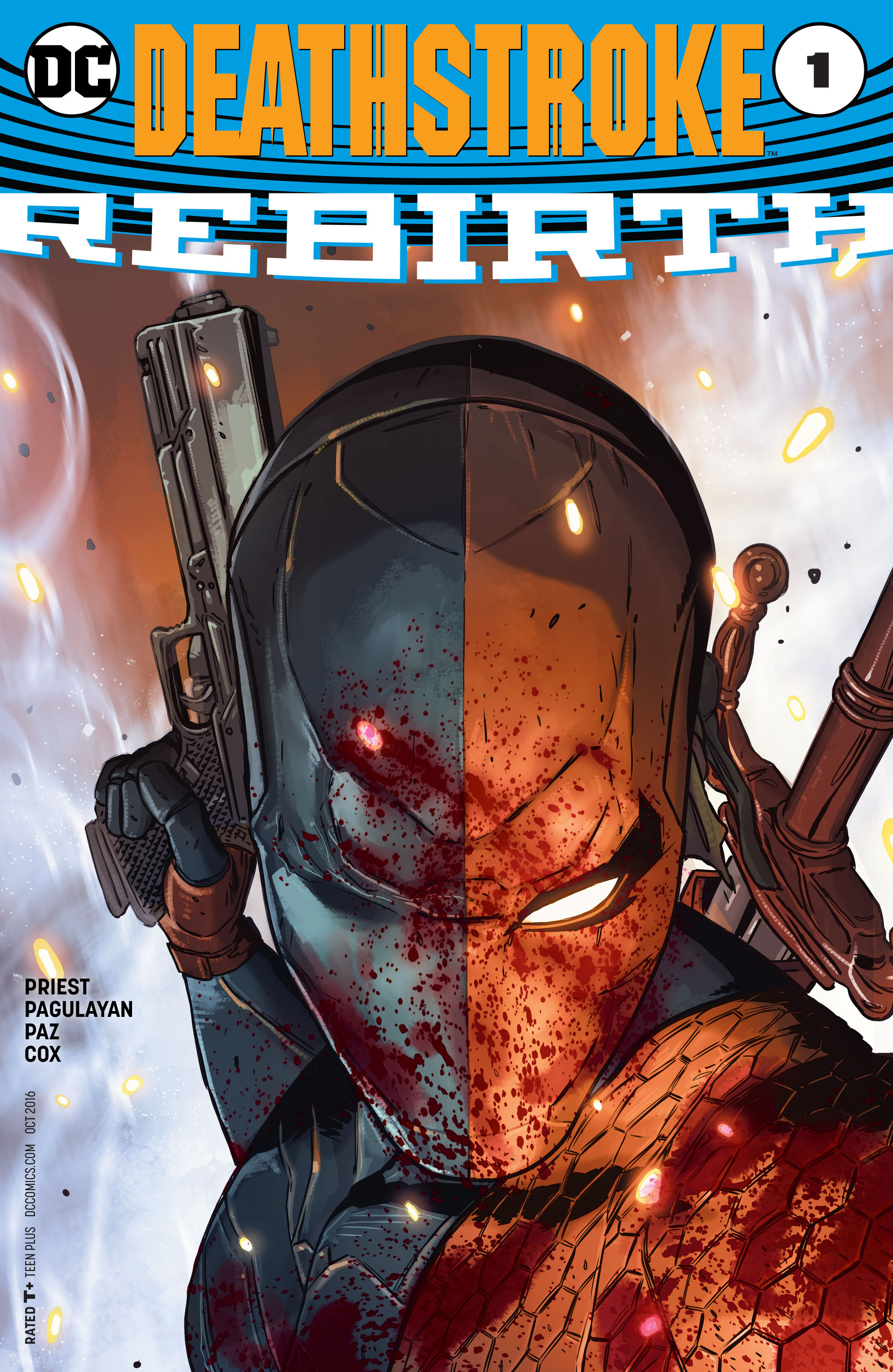 Deathstroke: Rebirth Full Page 1