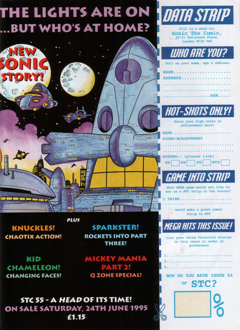 Read online Sonic the Comic comic -  Issue #54 - 31