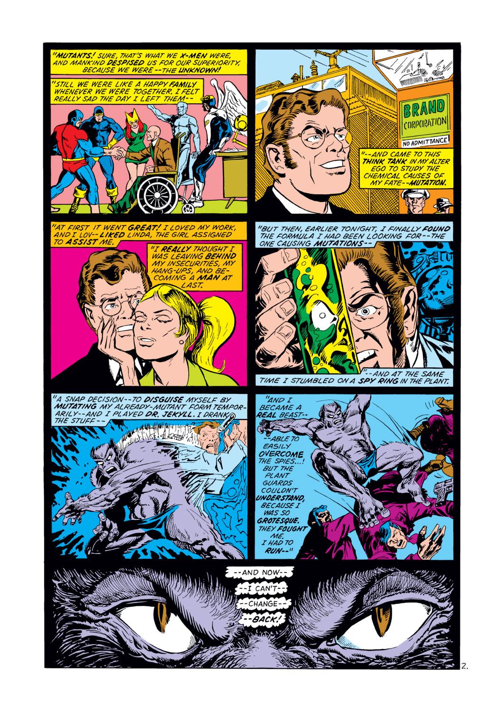 Read online Amazing Adventures (1970) comic -  Issue #12 - 3