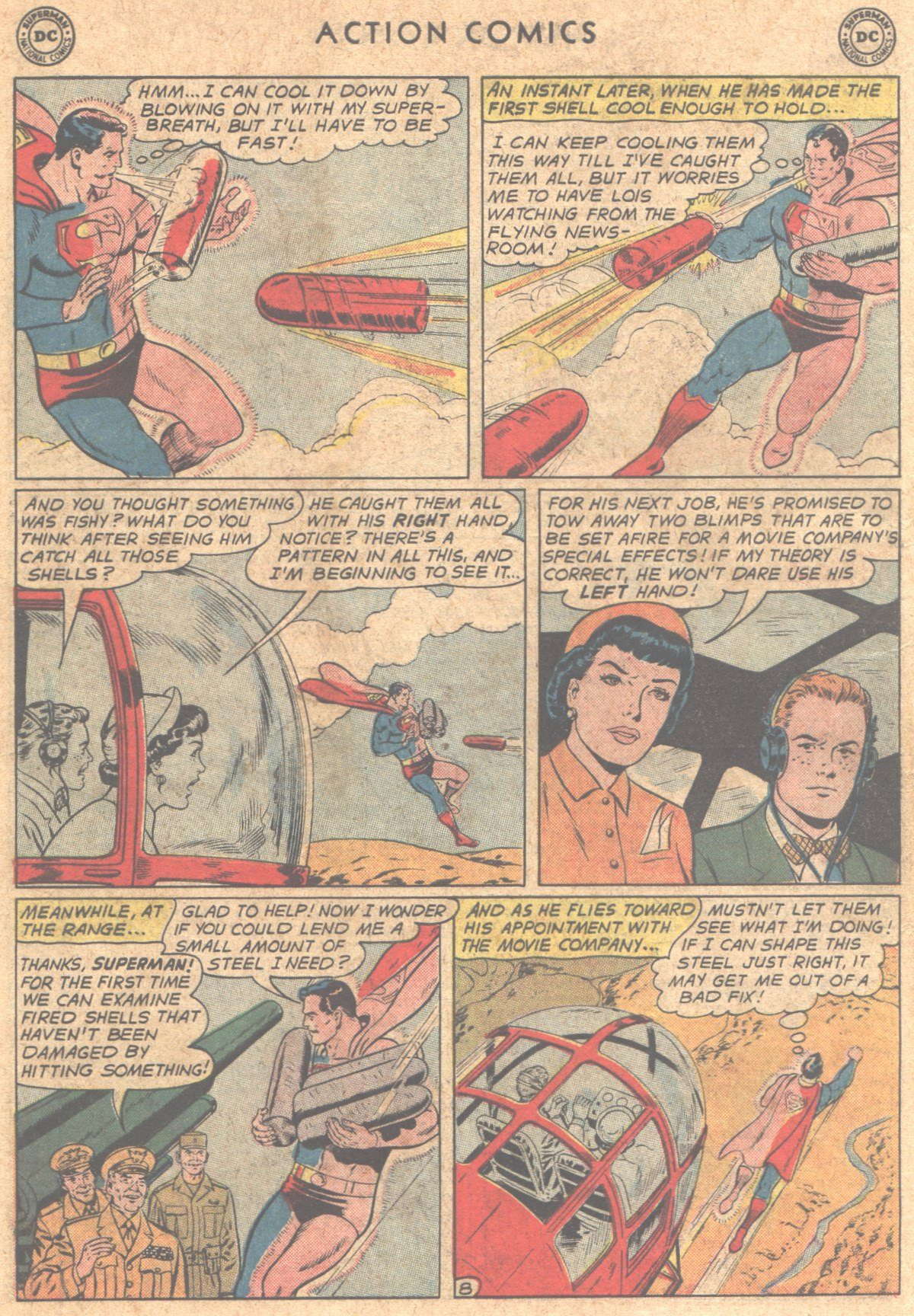 Read online Action Comics (1938) comic -  Issue #290 - 10
