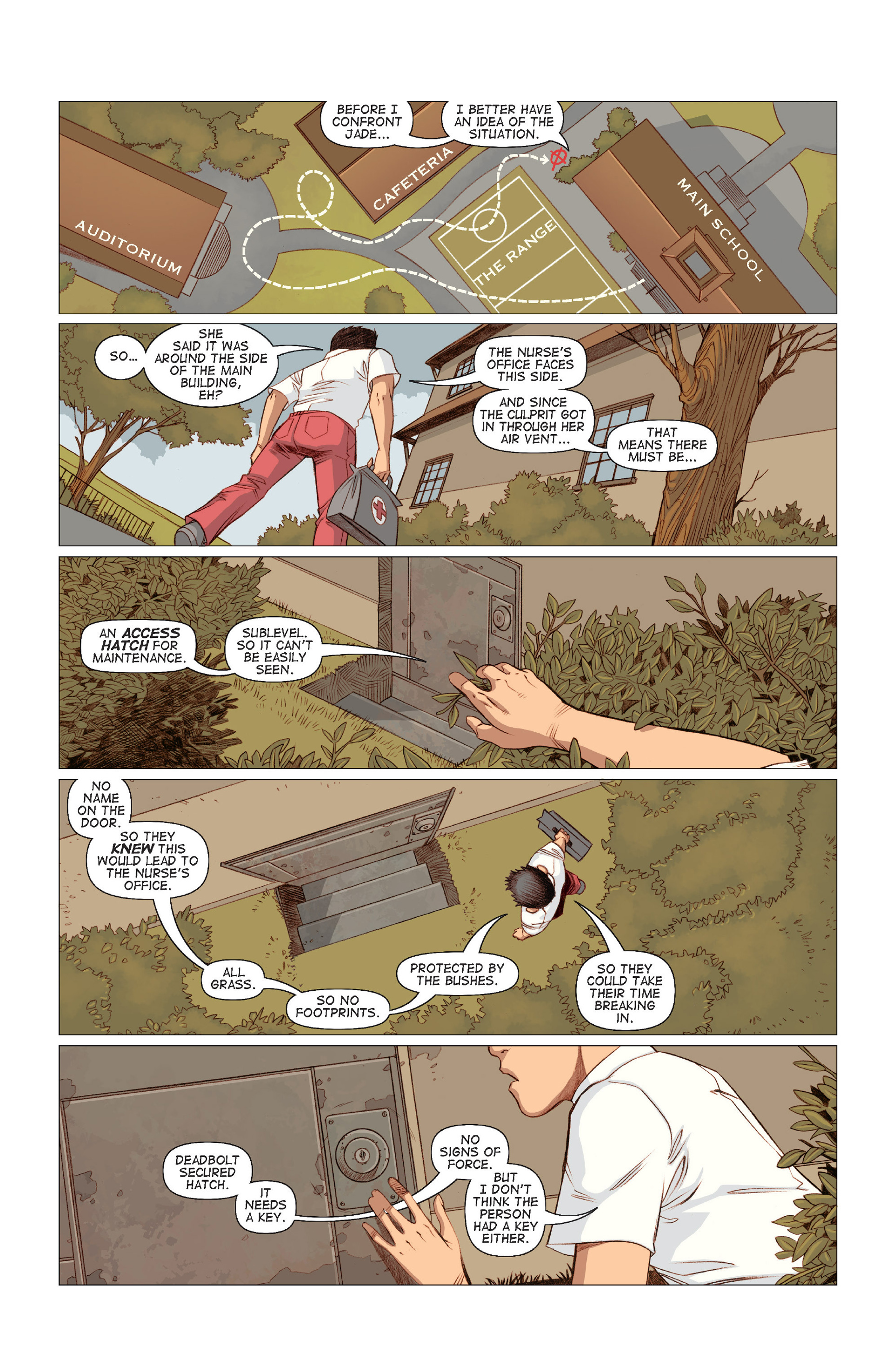Read online Five Weapons comic -  Issue #8 - 12