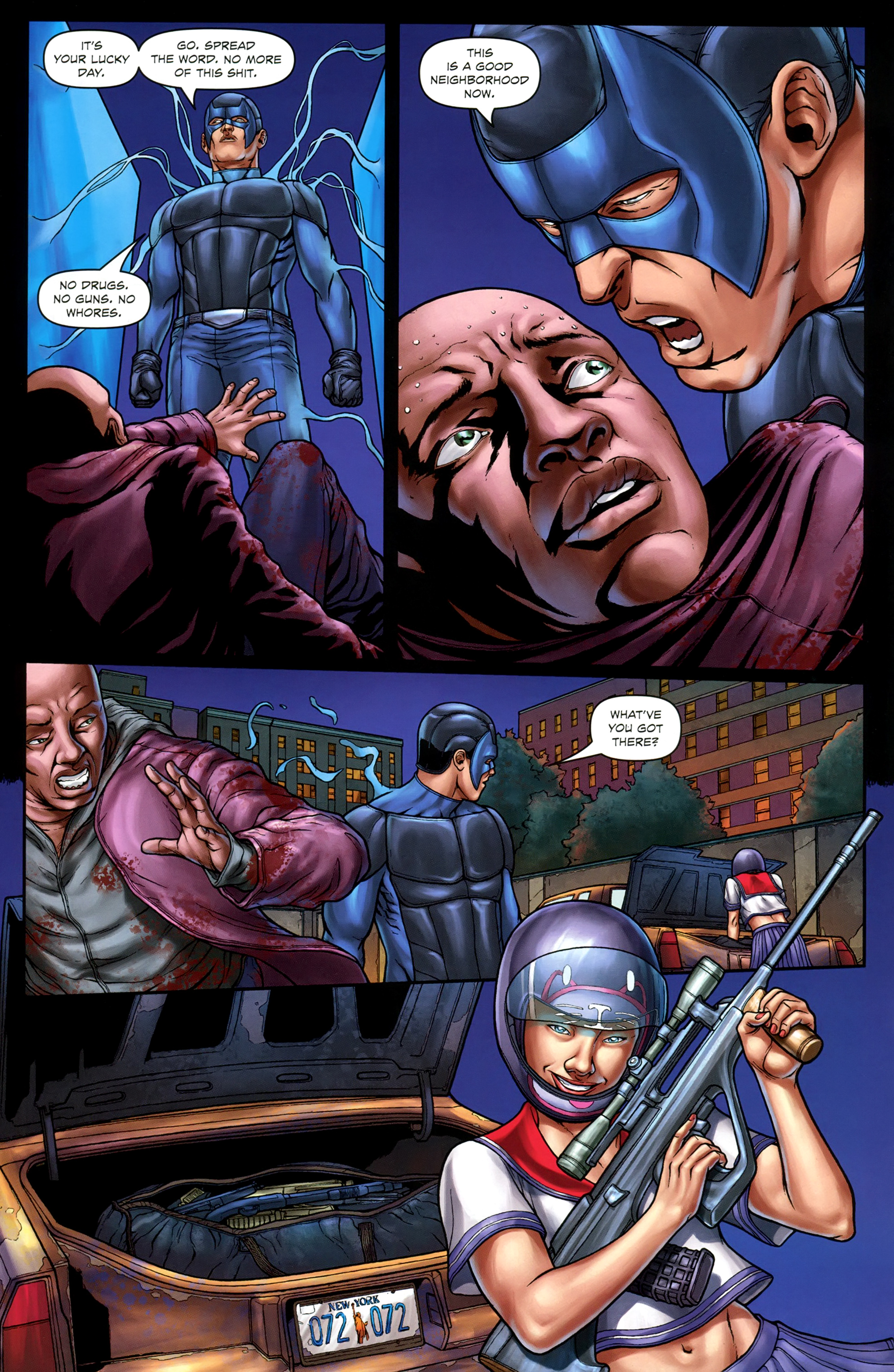 Read online Absolution: Rubicon comic -  Issue #3 - 20