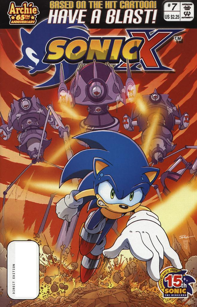 Read online Sonic X comic -  Issue #7 - 1