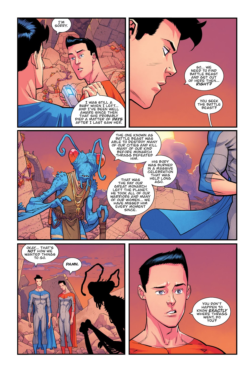 Invincible (2003) issue TPB 21 - Modern Family - Page 115