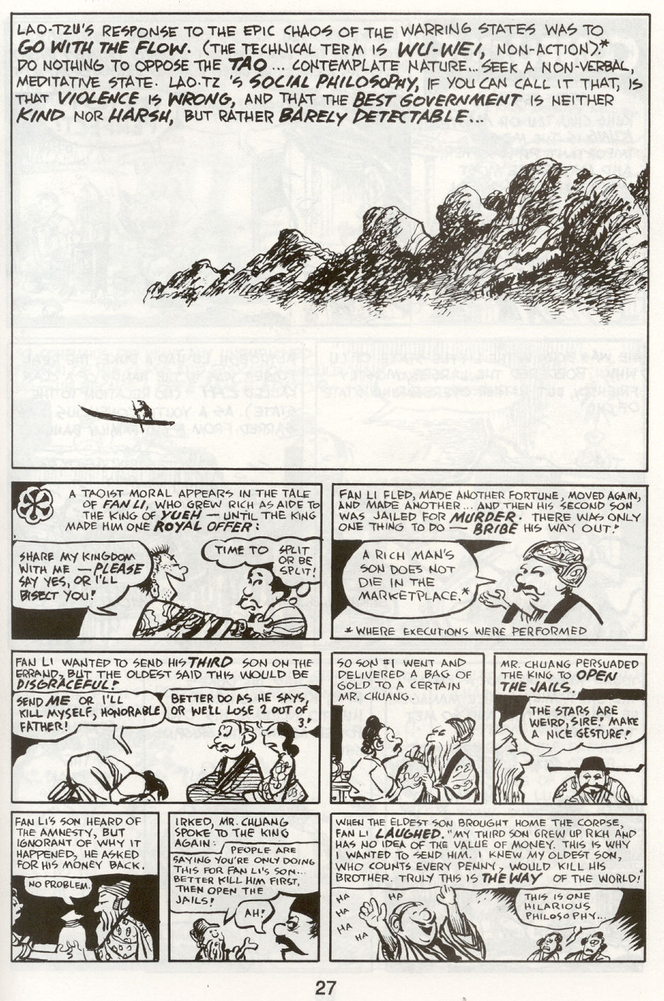Read online The Cartoon History of the Universe comic -  Issue #9 - 30