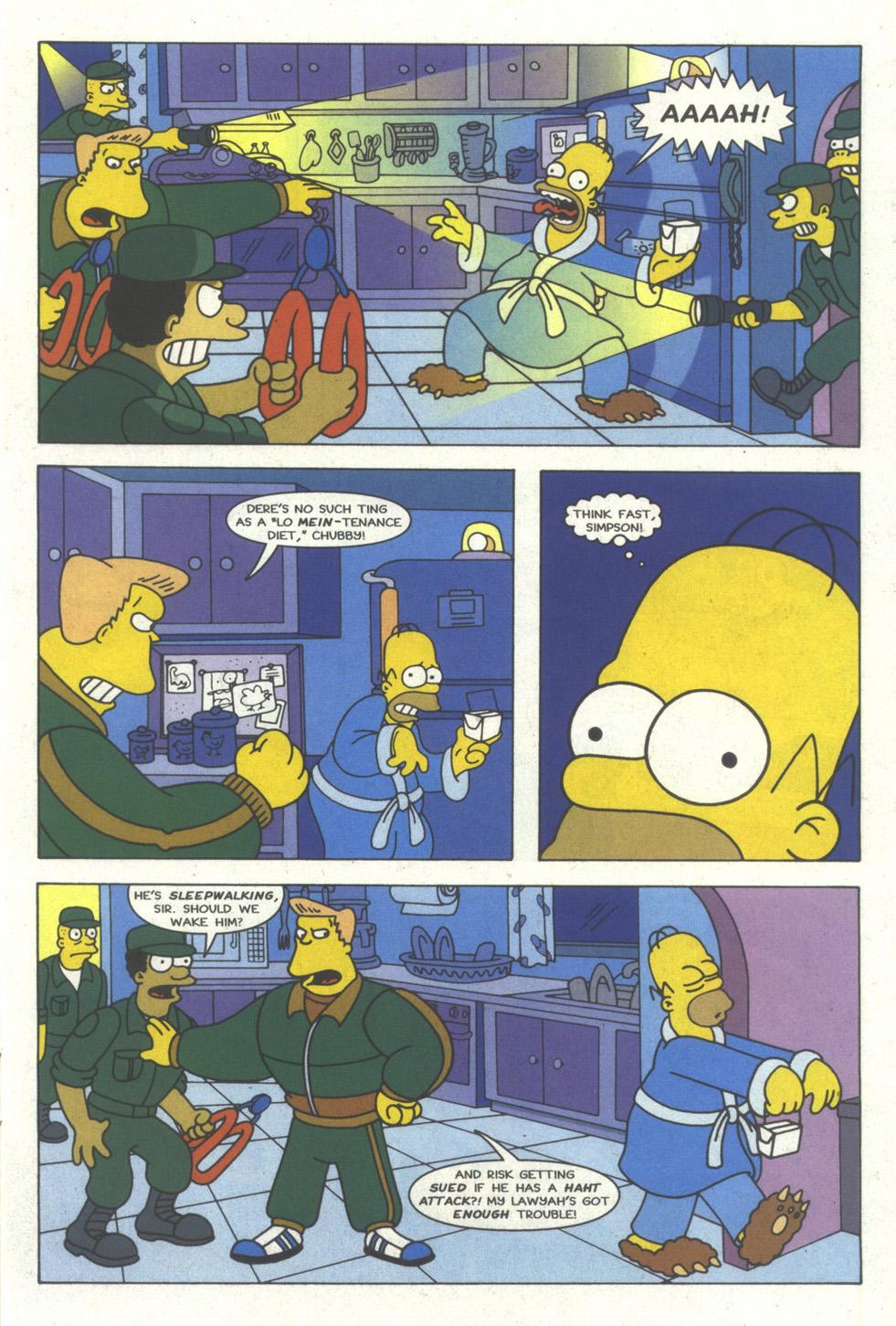 Read online Simpsons Comics comic -  Issue #18 - 12