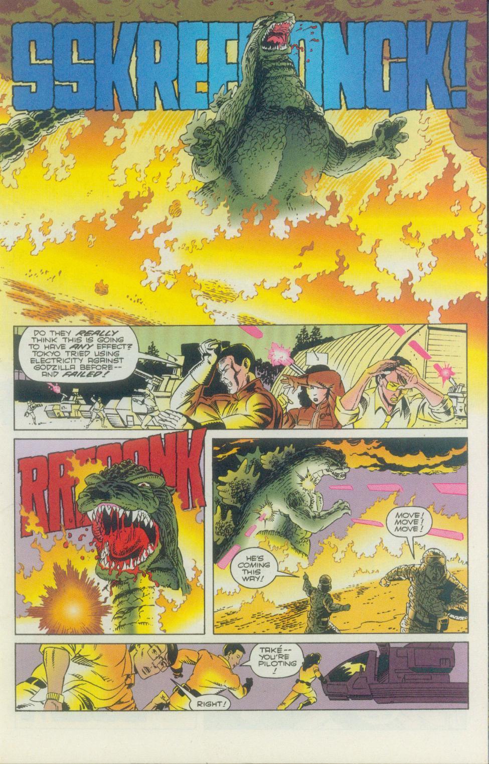 Godzilla (1995) Issue #2 #3 - English 20