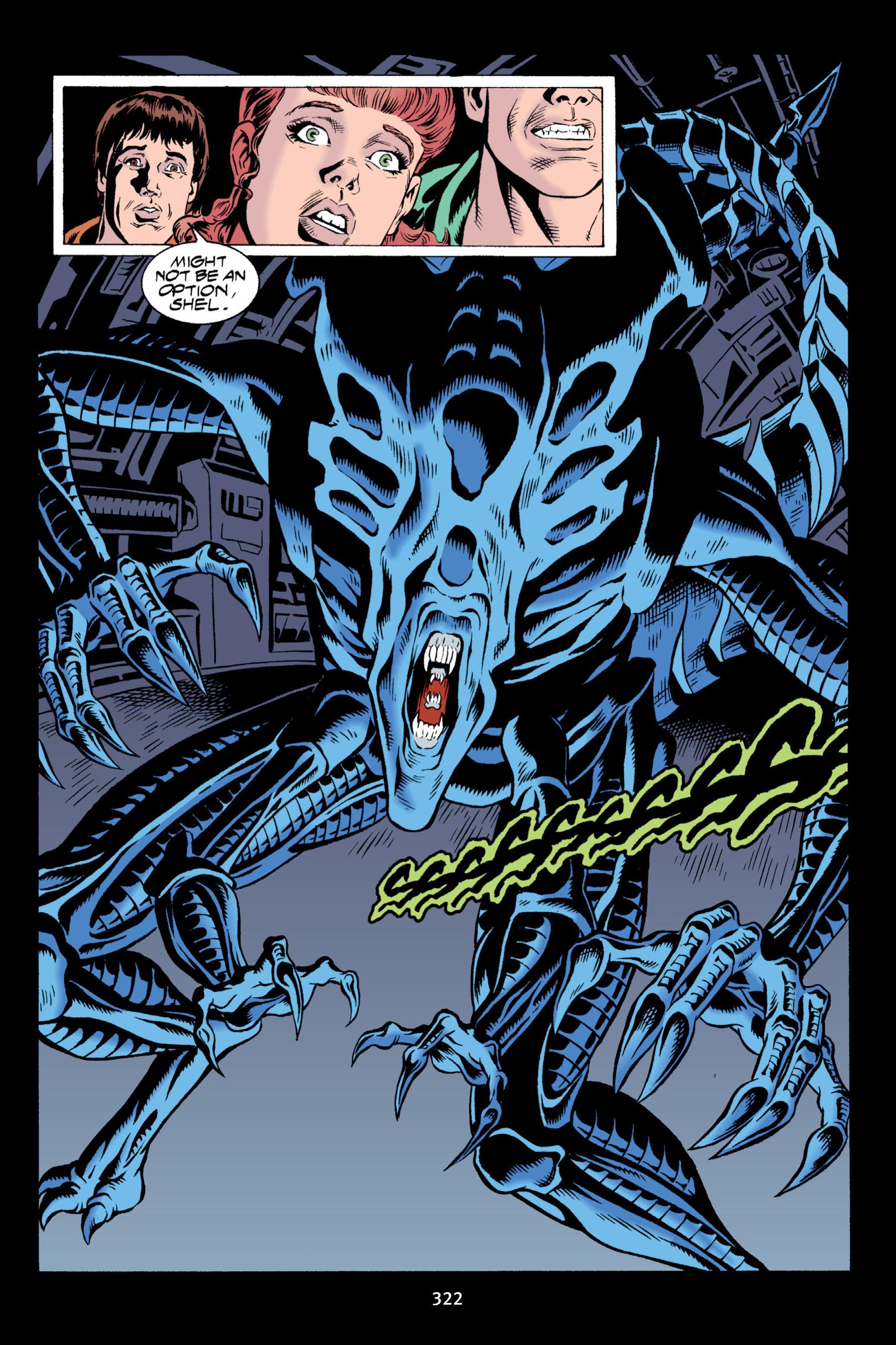 Read online Aliens vs. Predator Omnibus comic -  Issue # _TPB 2 Part 3 - 97