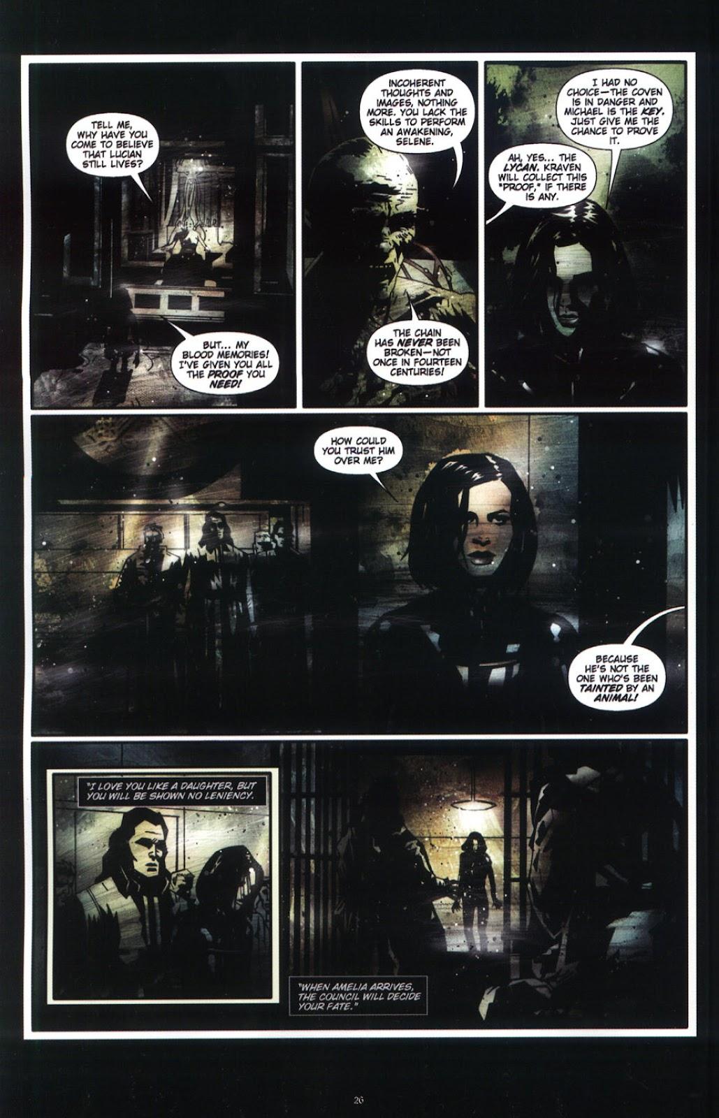 Read online Underworld (2003) comic -  Issue # Full - 28