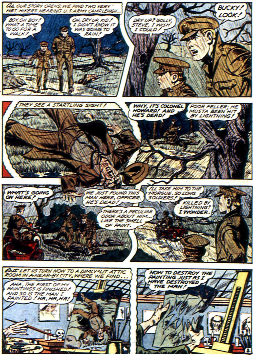 Read online All-Winners Comics comic -  Issue #3 - 17