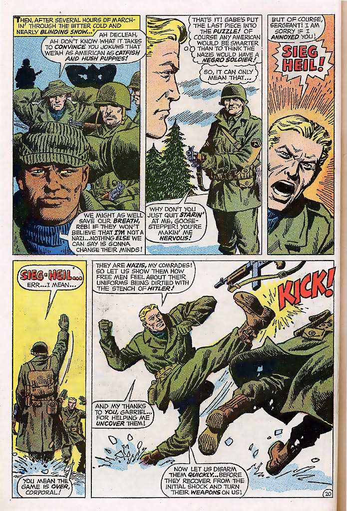 Read online Sgt. Fury comic -  Issue # _Special 4 - 26