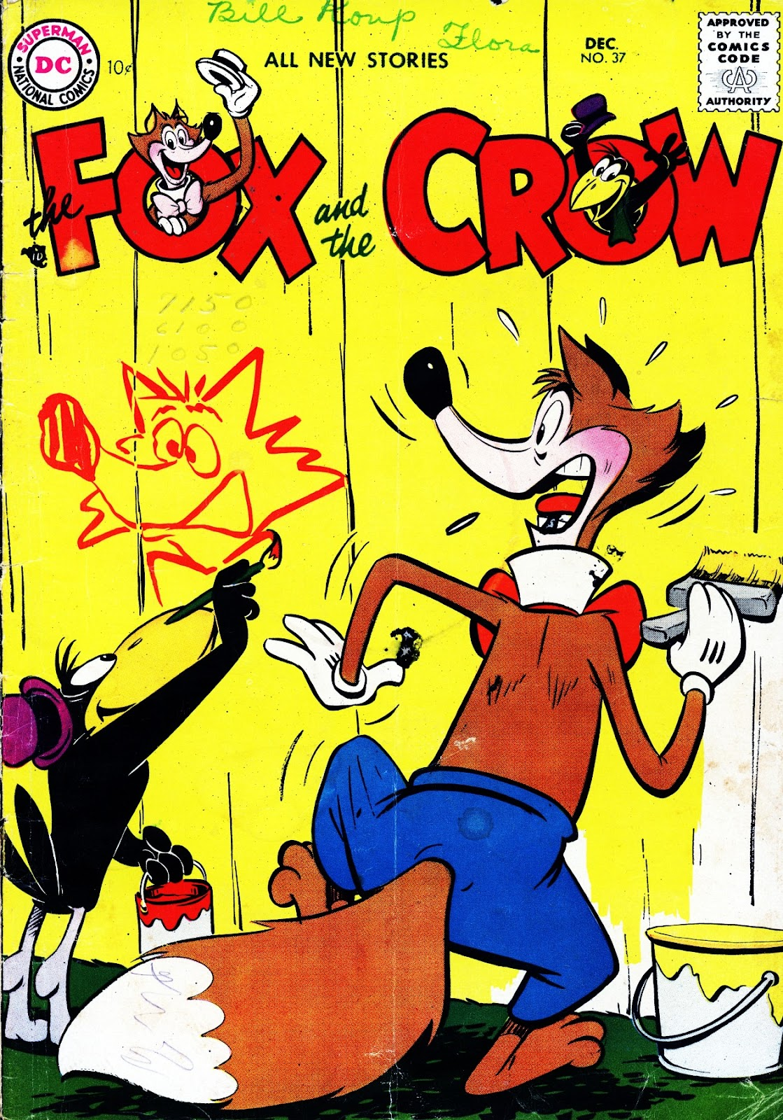The Fox and the Crow 37 Page 1