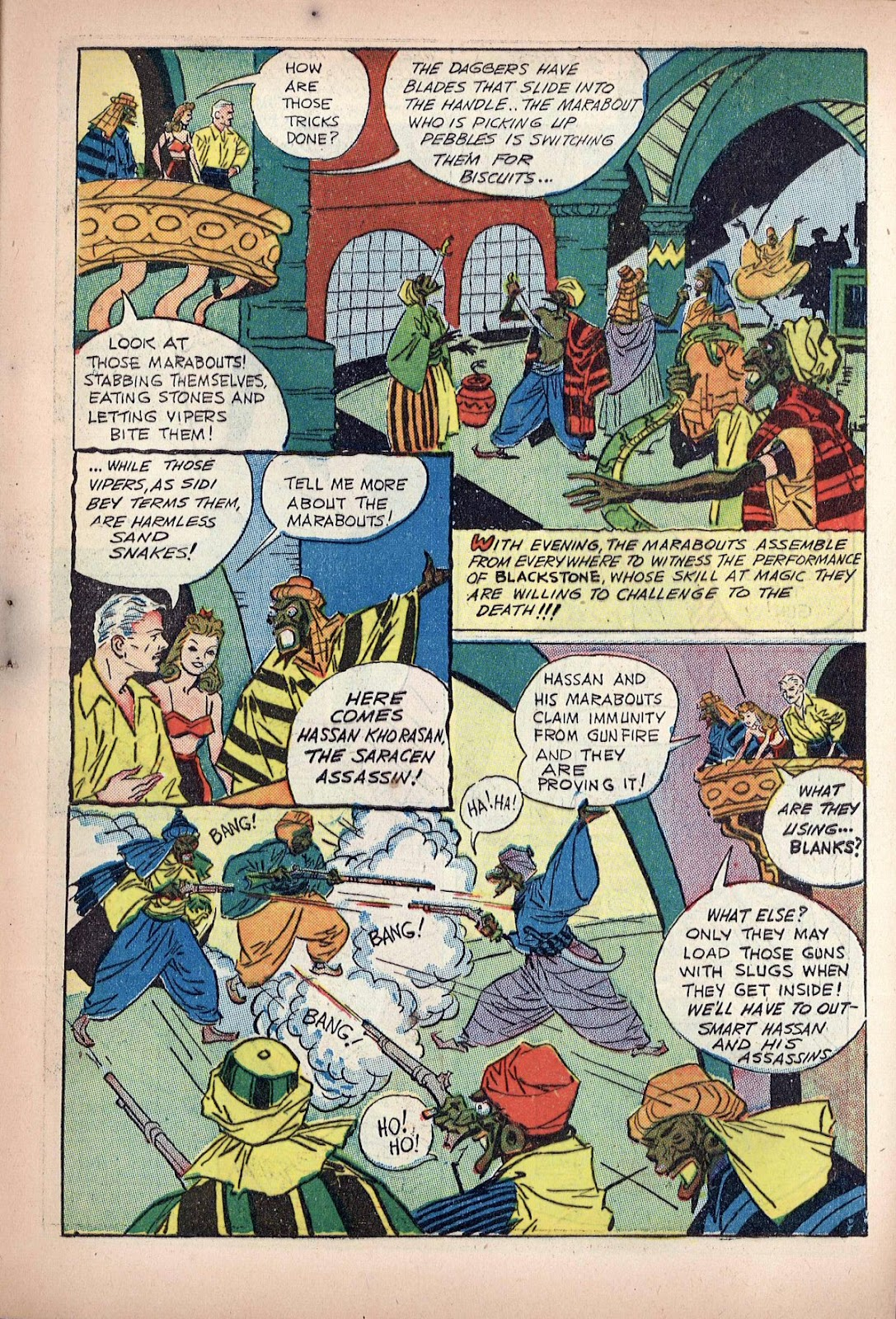 Read online Super-Magician Comics comic -  Issue #20 - 9