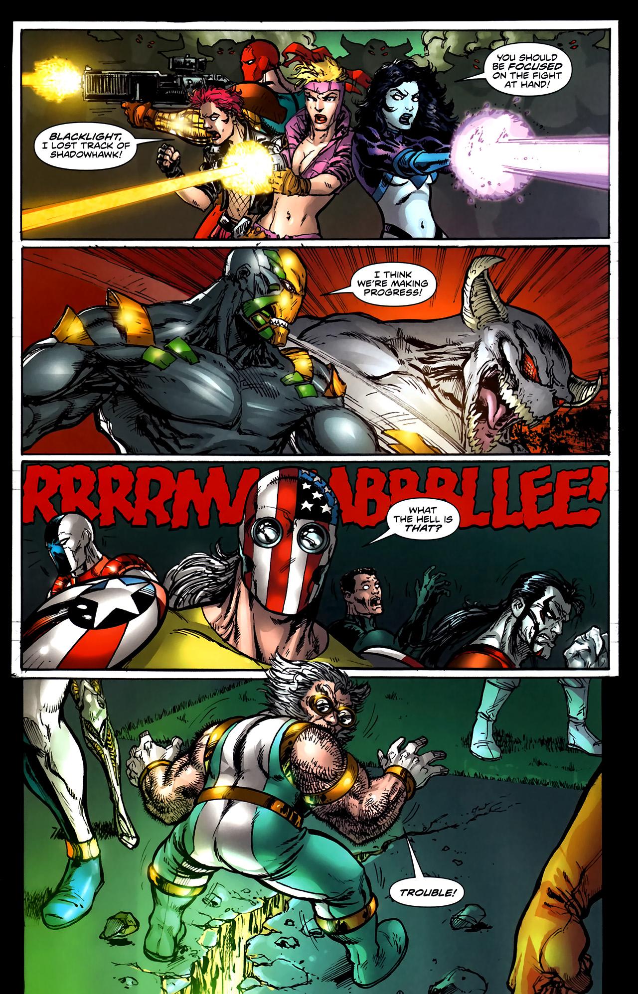 Read online ShadowHawk (2010) comic -  Issue #5 - 11