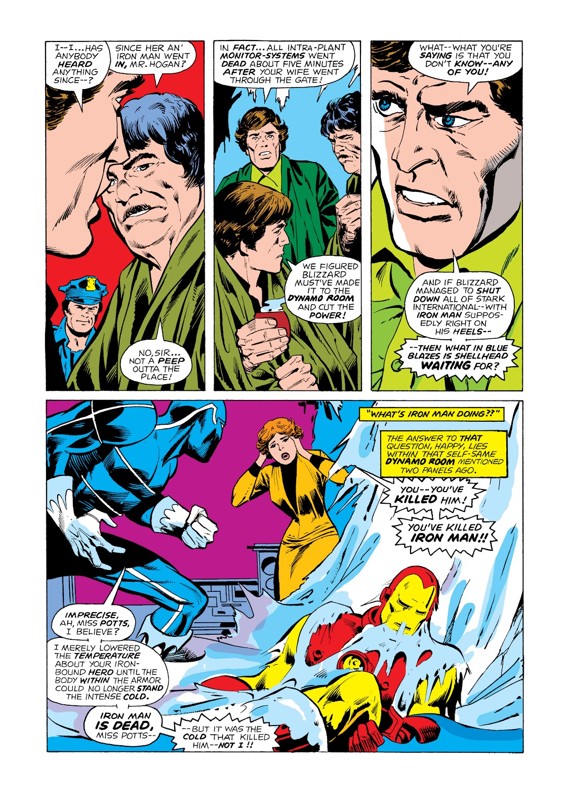 Read online Marvel Masterworks: The Invincible Iron Man comic -  Issue # TPB 11 (Part 2) - 6