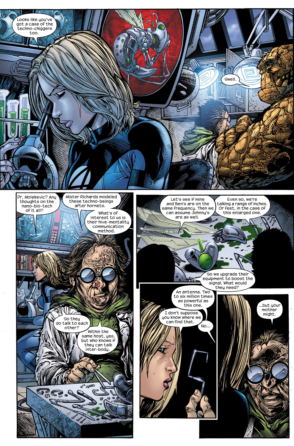 Read online Ultimate Fantastic Four (2004) comic -  Issue #60 - 7