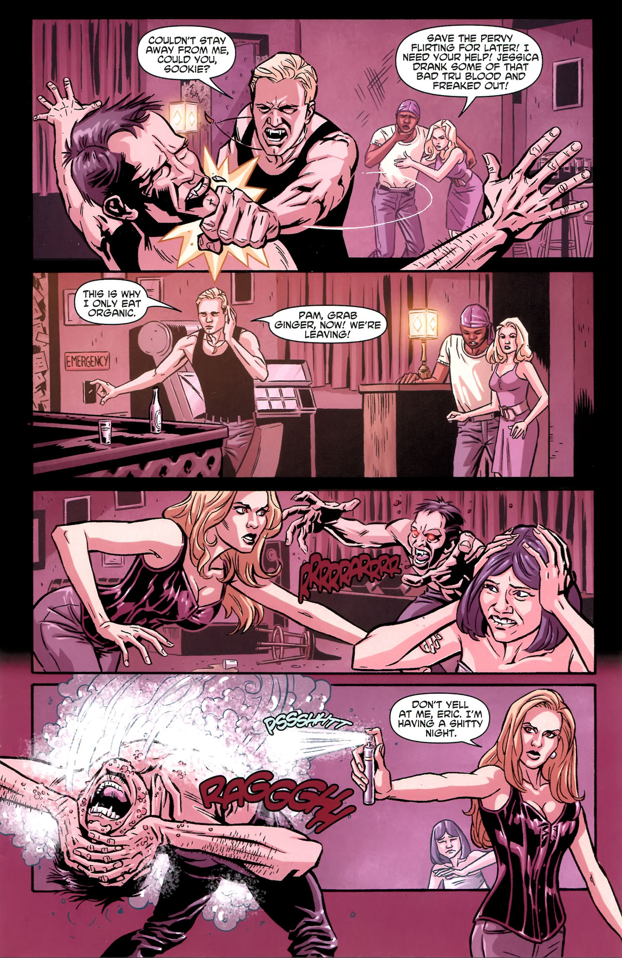 Read online True Blood: Tainted Love comic -  Issue #3 - 8