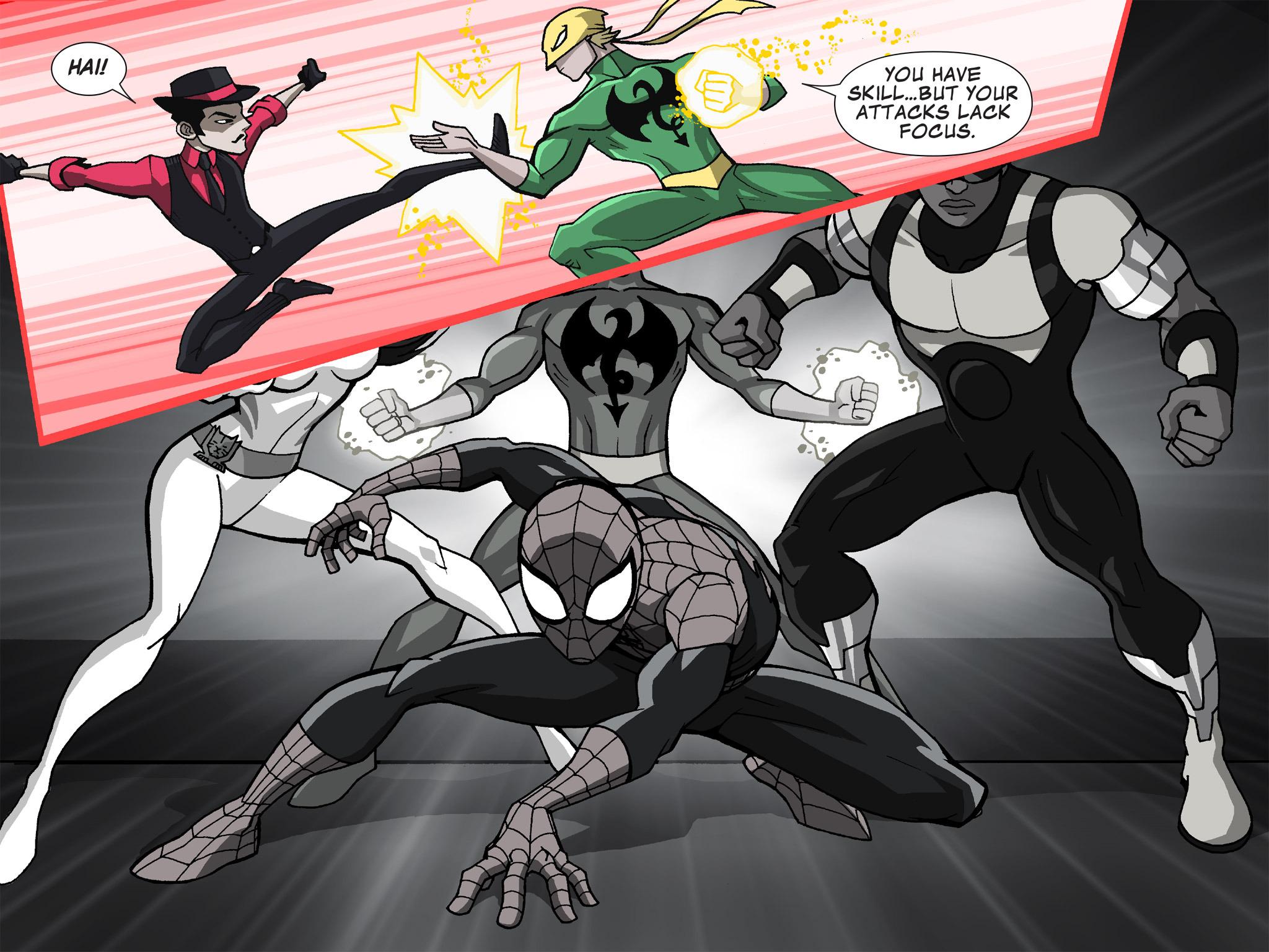 Read online Ultimate Spider-Man (Infinite Comics) (2015) comic -  Issue #19 - 21