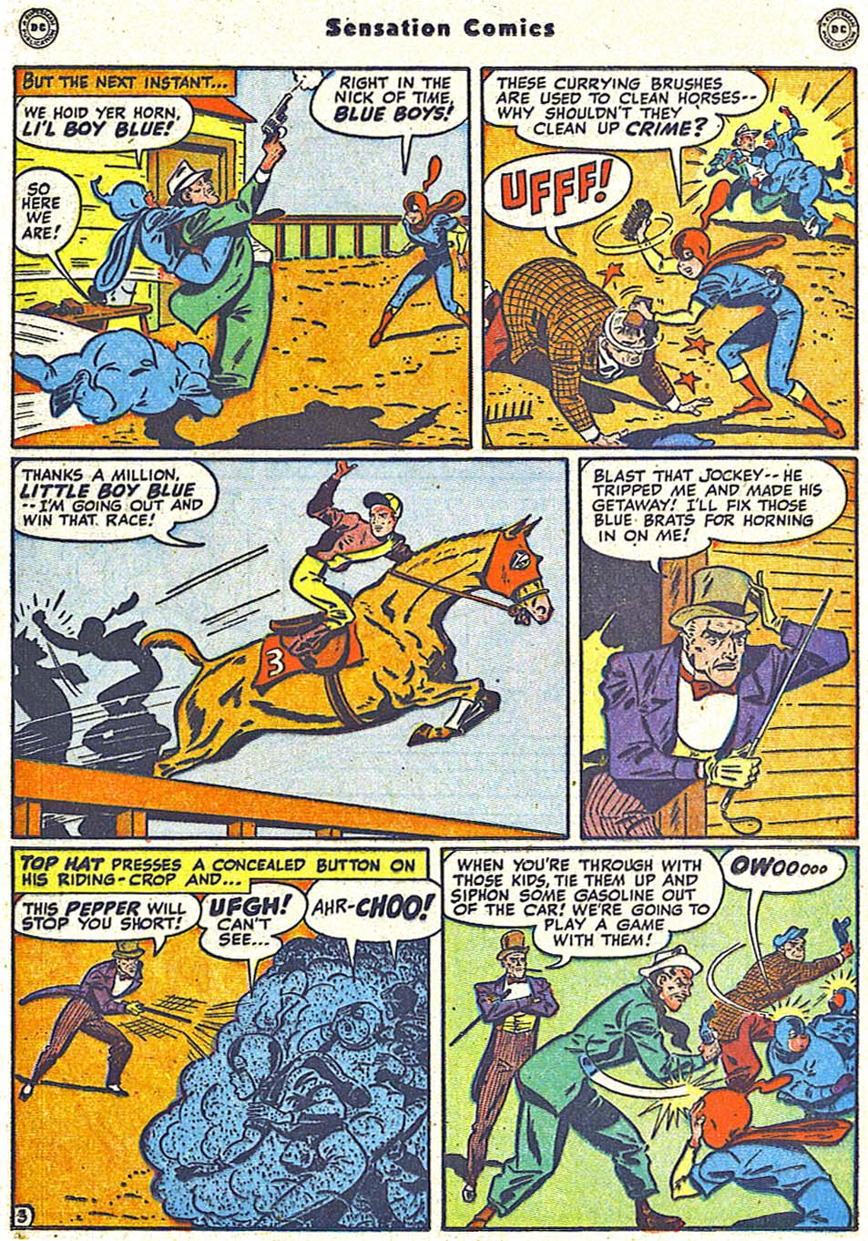 Read online Sensation (Mystery) Comics comic -  Issue #79 - 19