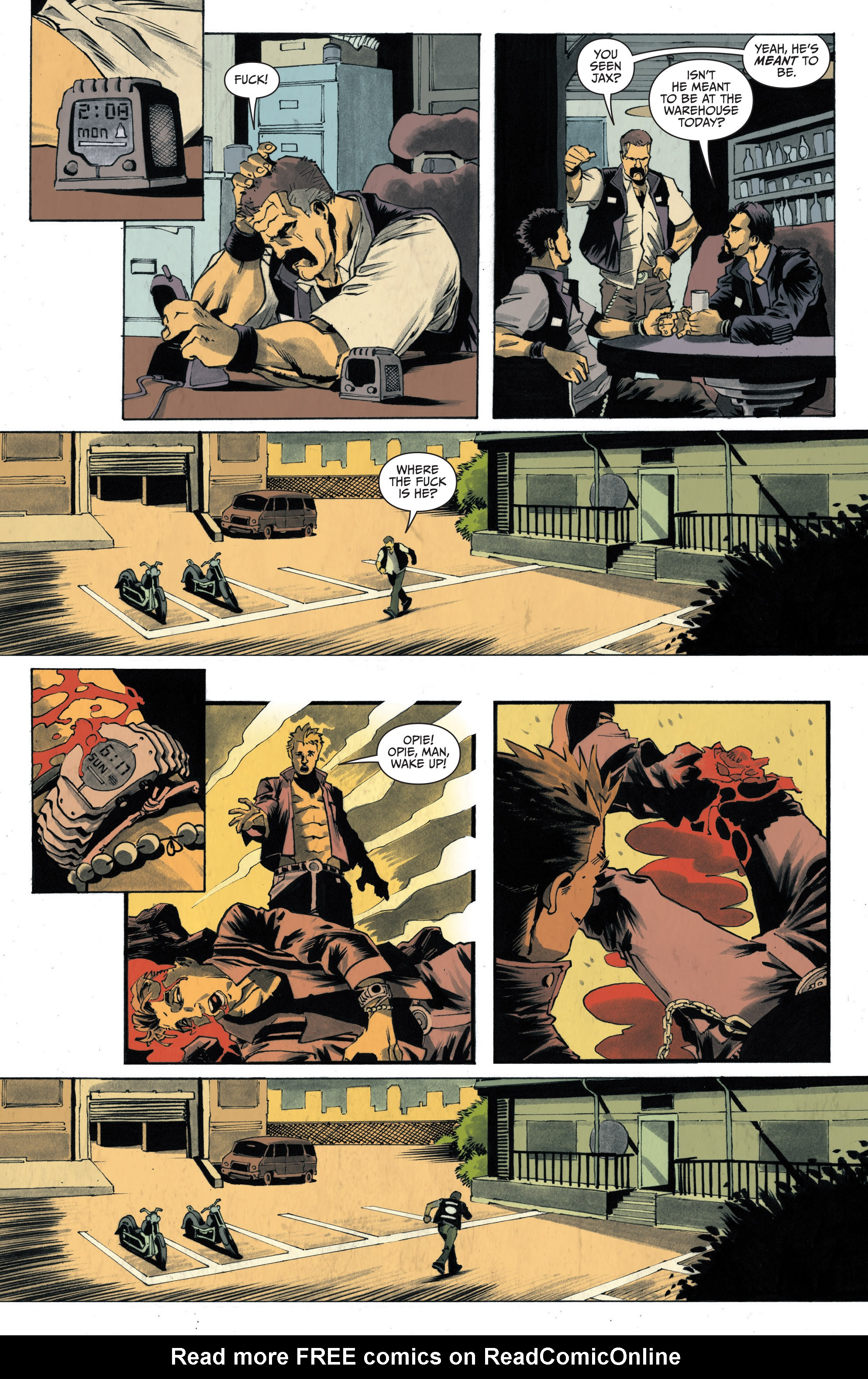 Read online Sons of Anarchy: Redwood Original comic -  Issue #4 - 11