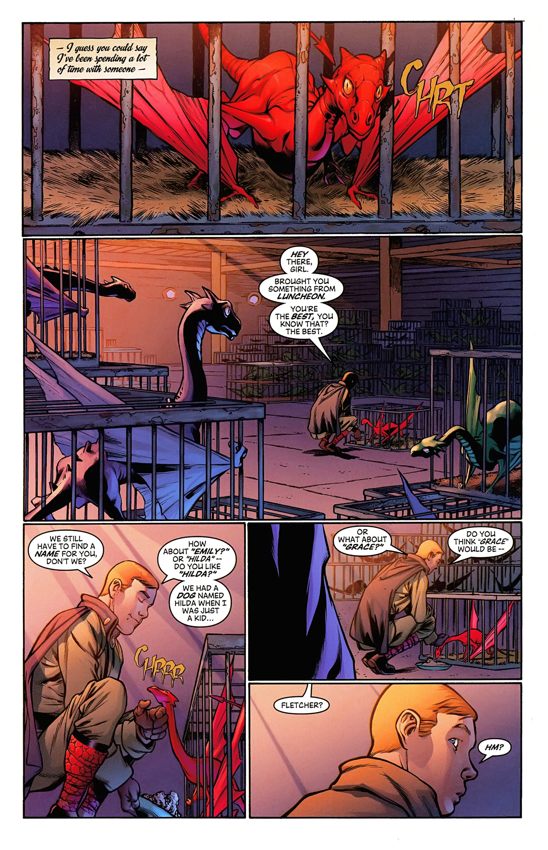 Read online Arrowsmith comic -  Issue #3 - 4