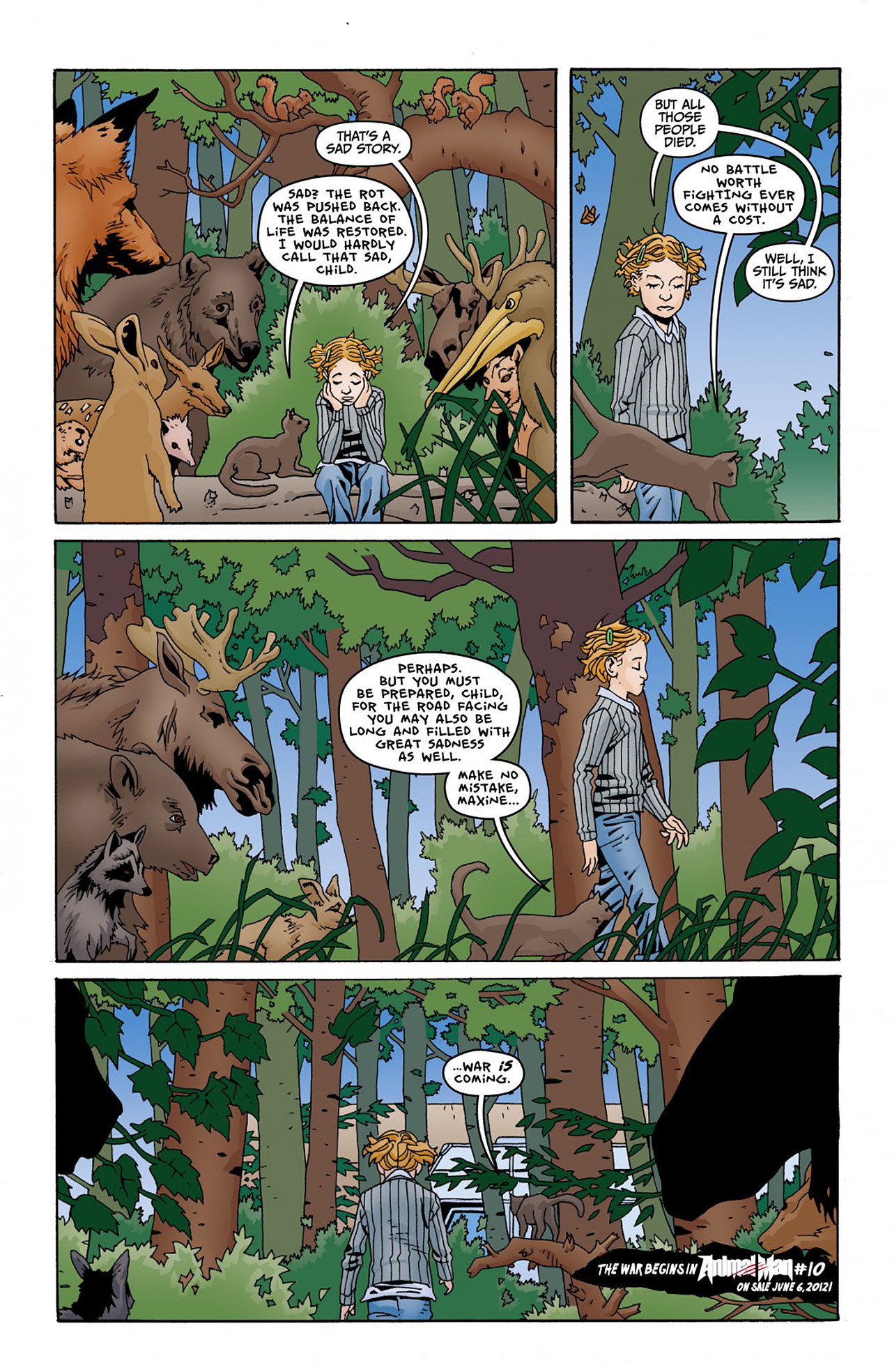 Read online Animal Man (2011) comic -  Issue #Animal Man (2011) _Annual 1 - 37