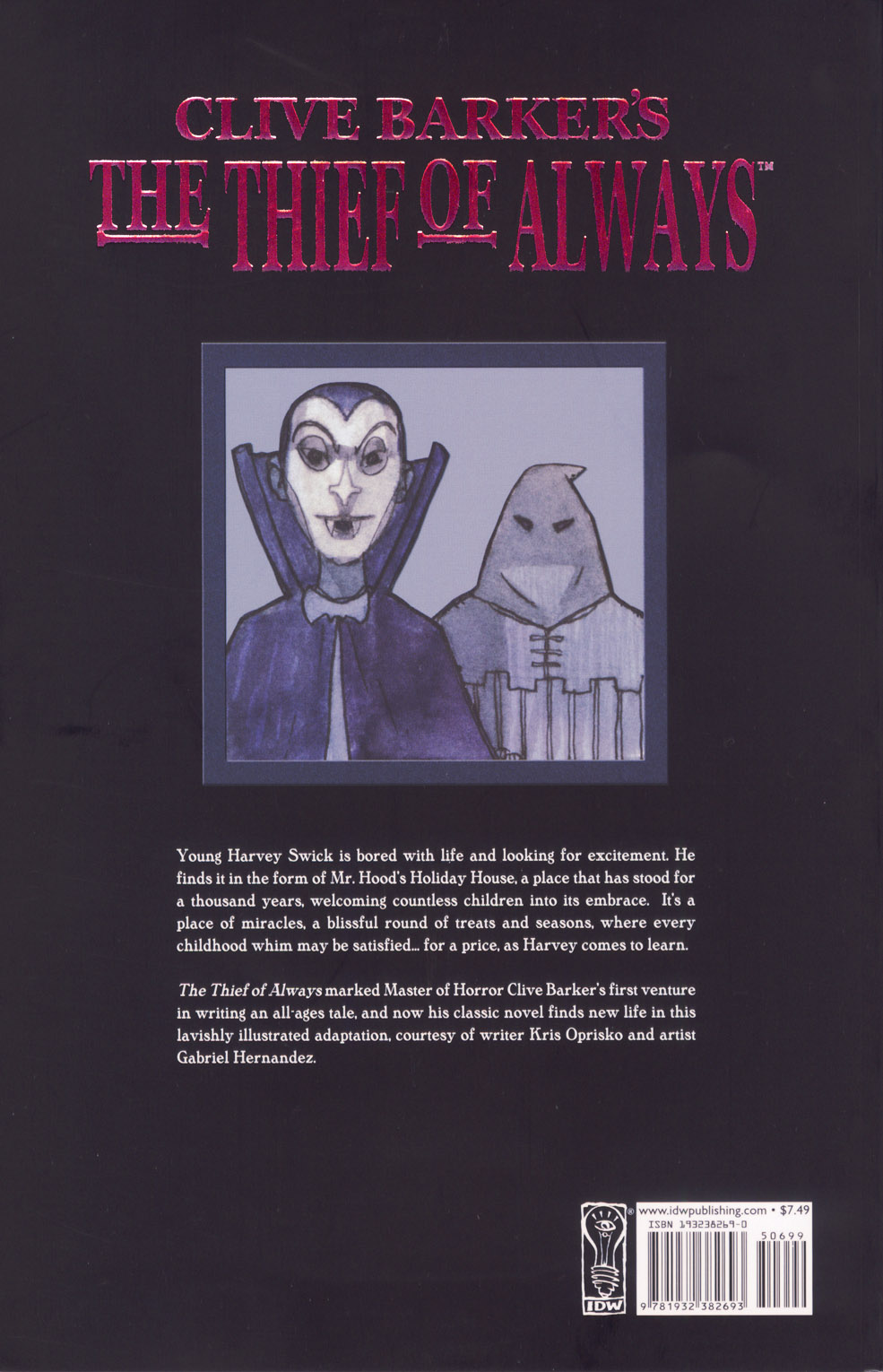 Read online Clive Barker's The Thief Of Always comic -  Issue #1 - 50