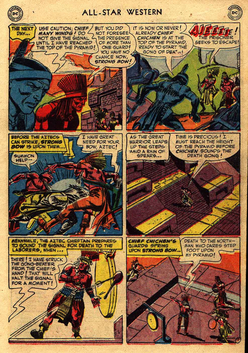 Read online All-Star Western (1951) comic -  Issue #62 - 9