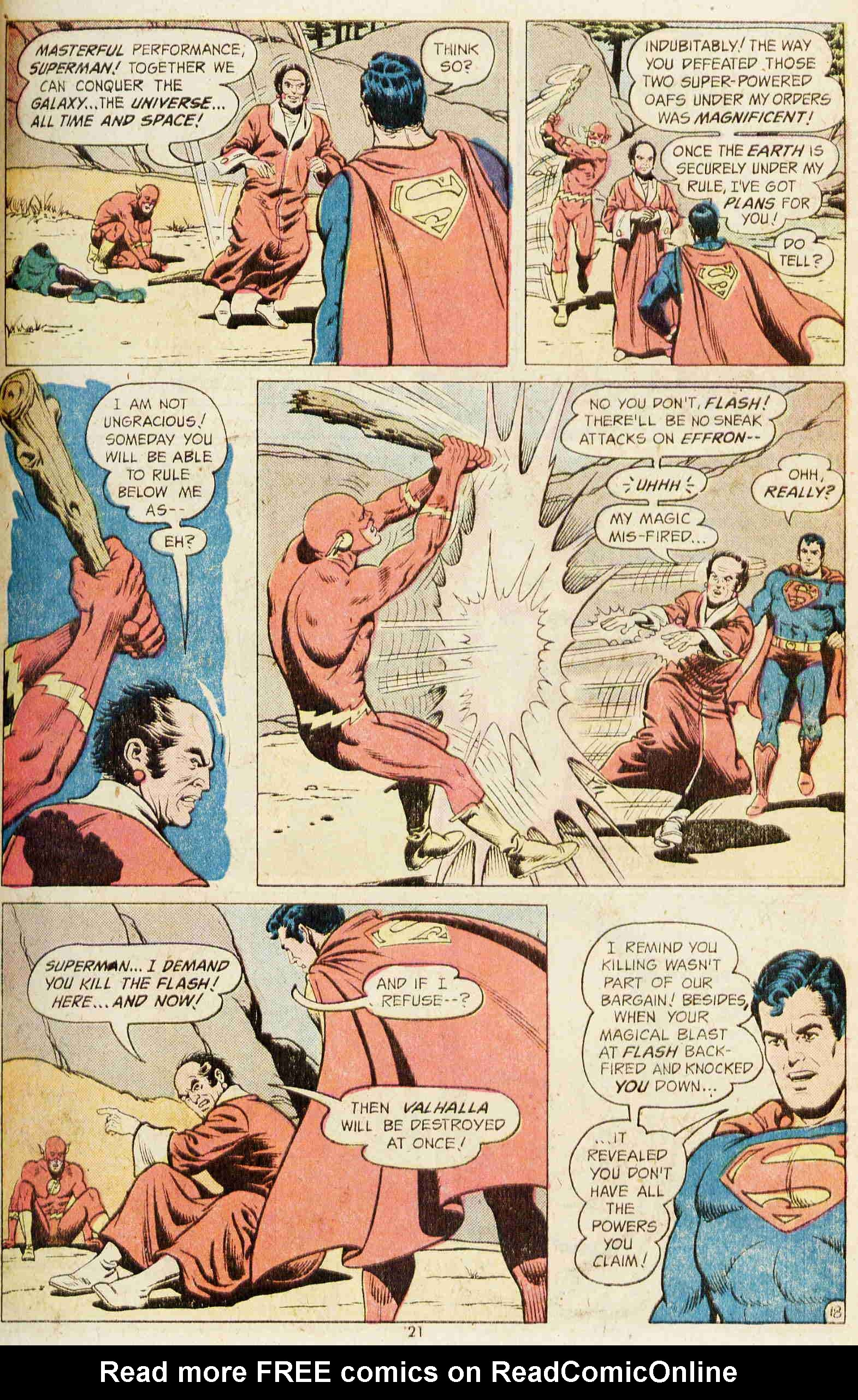 Read online Action Comics (1938) comic -  Issue #437 - 20