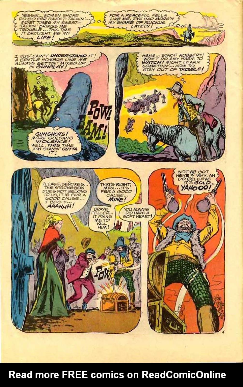 Bat Lash (1968) issue 4 - Page 6