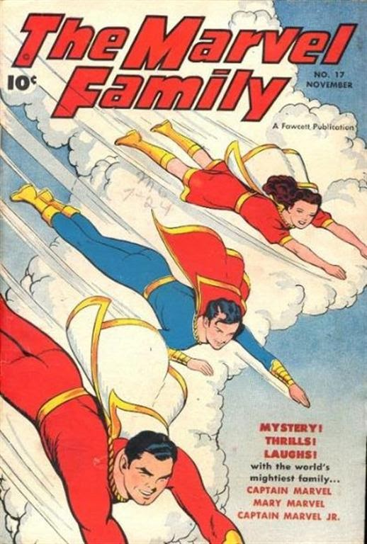 The Marvel Family 17 Page 1