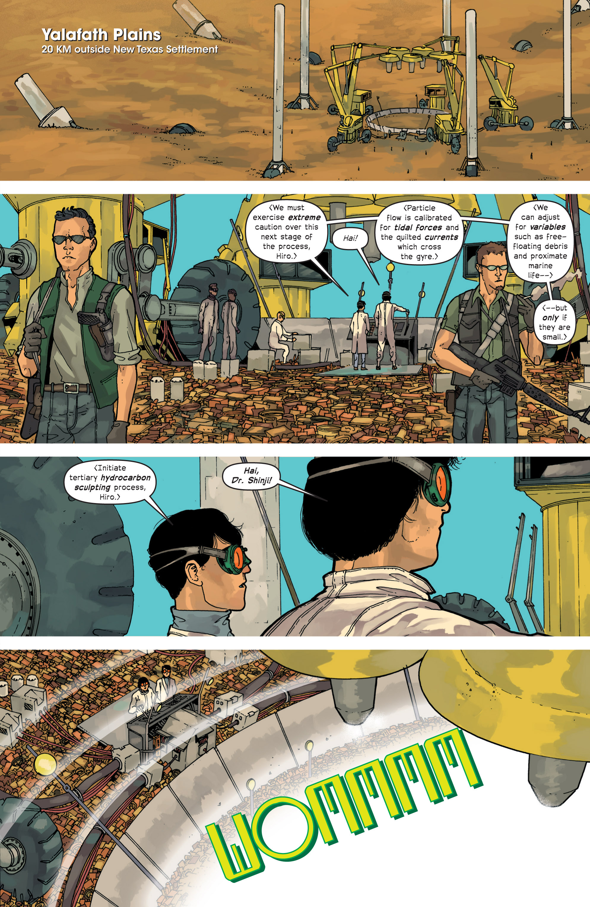 Read online Great Pacific comic -  Issue #11 - 3