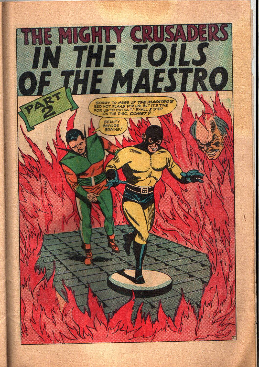 The Mighty Crusaders (1965) Issue #6 #6 - English 21