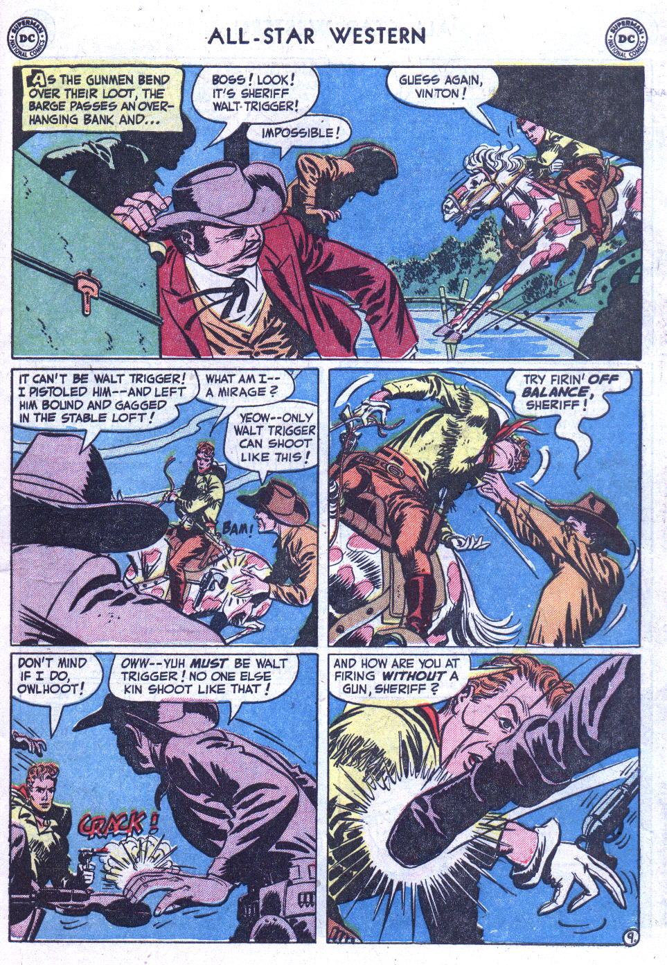 Read online All-Star Western (1951) comic -  Issue #59 - 11