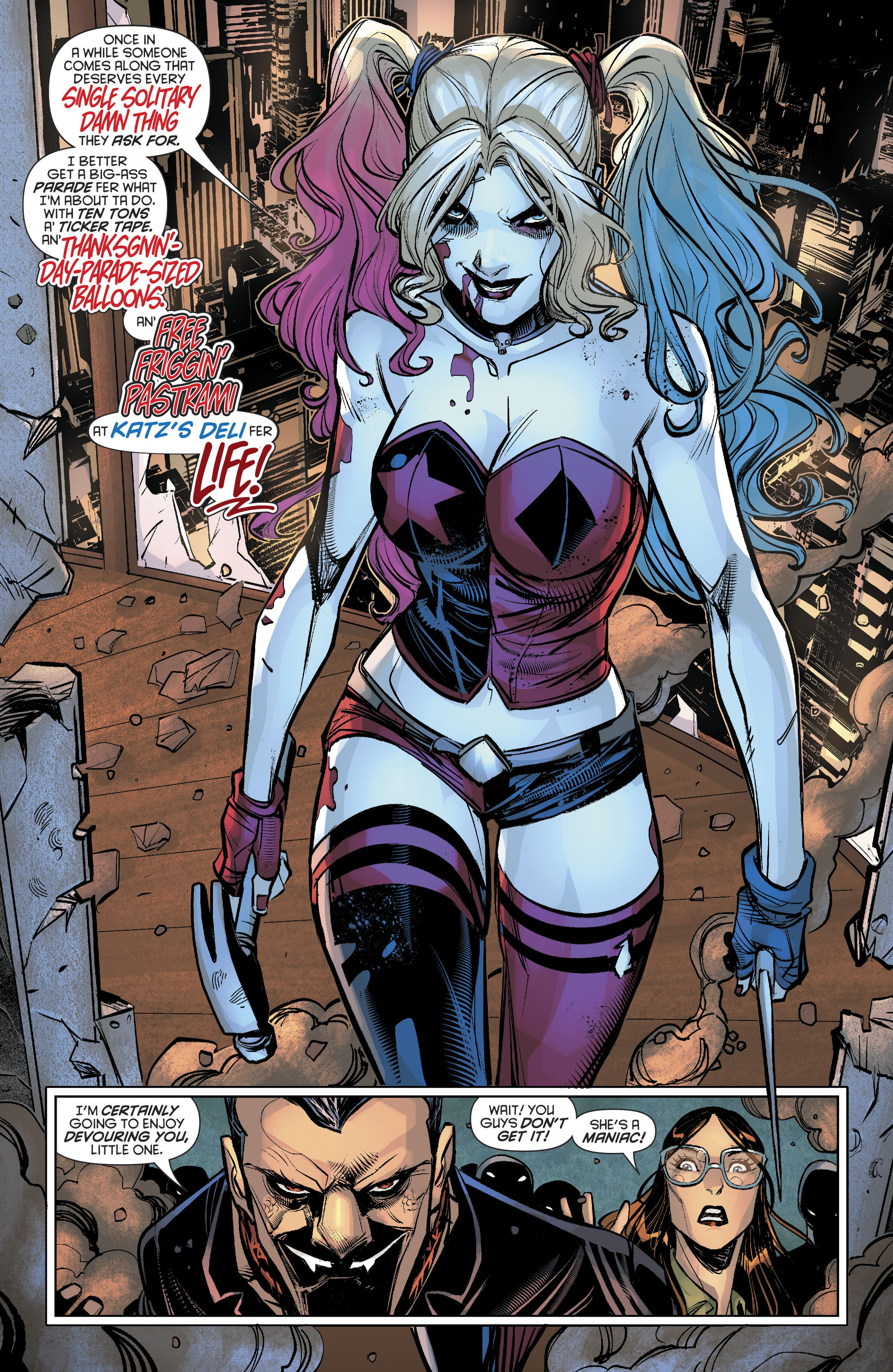 Read online Harley Quinn (2016) comic -  Issue #19 - 10