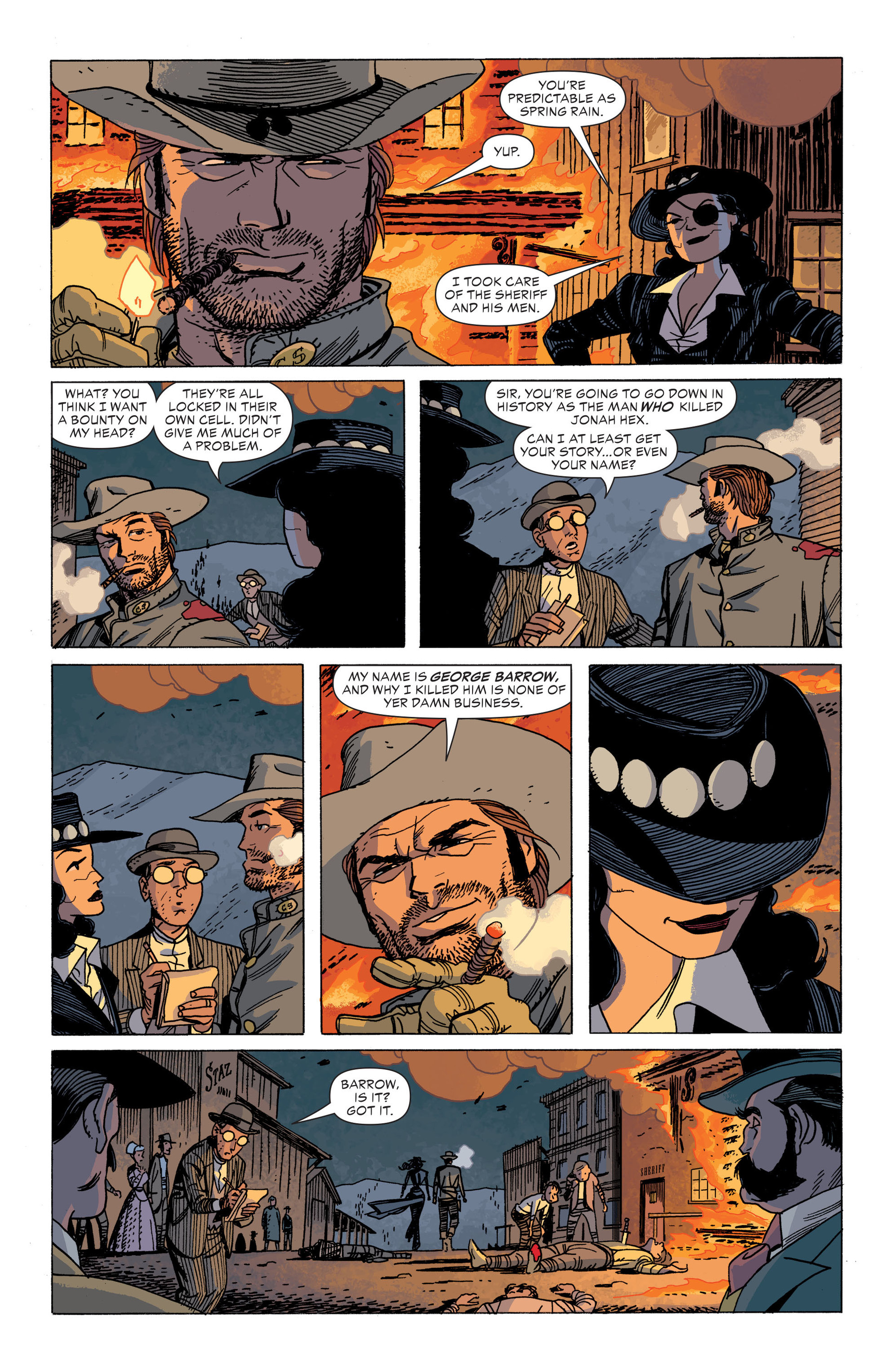 Read online All-Star Western (2011) comic -  Issue #34 - 18