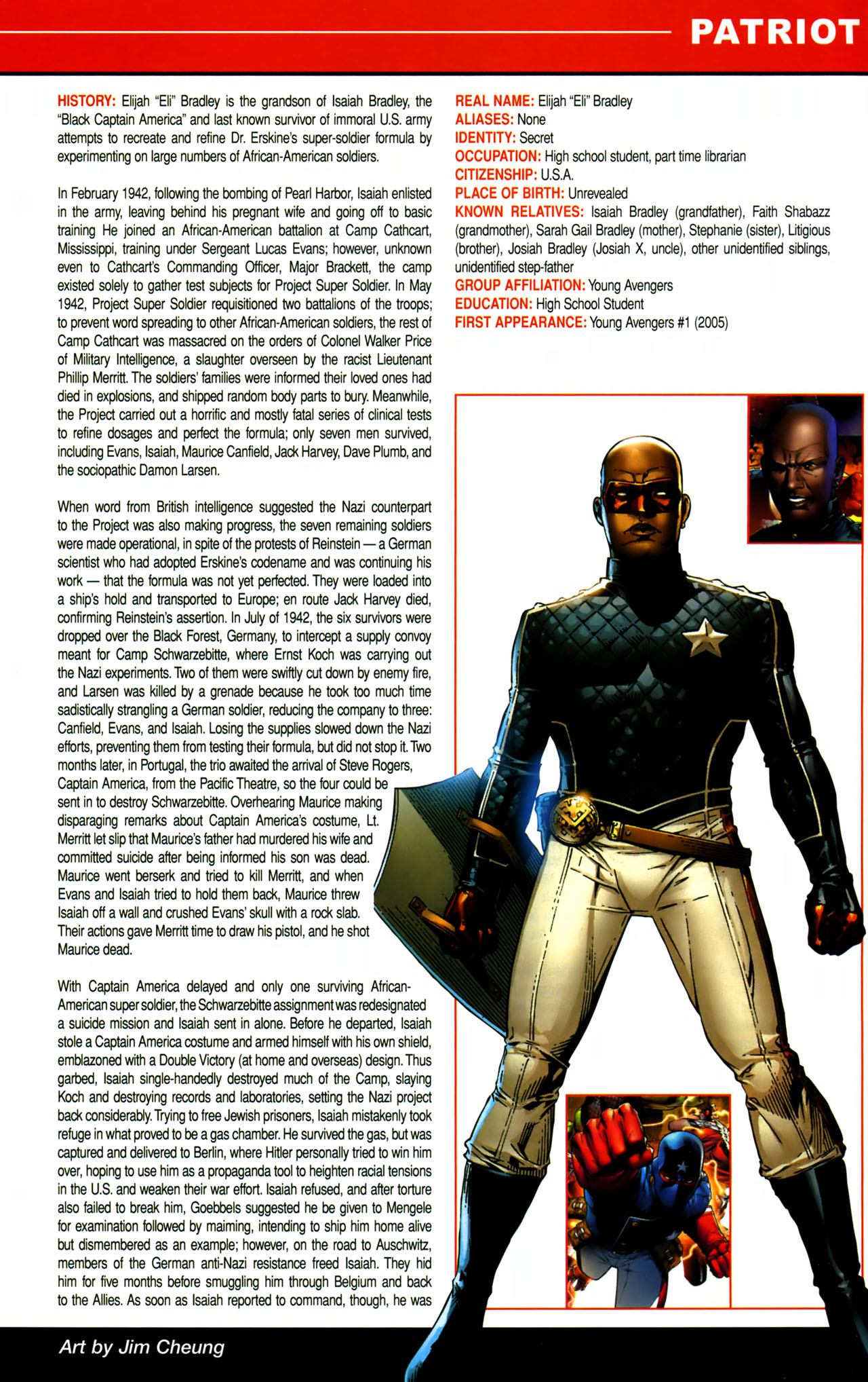 Read online All-New Official Handbook of the Marvel Universe A to Z comic -  Issue #8 - 35