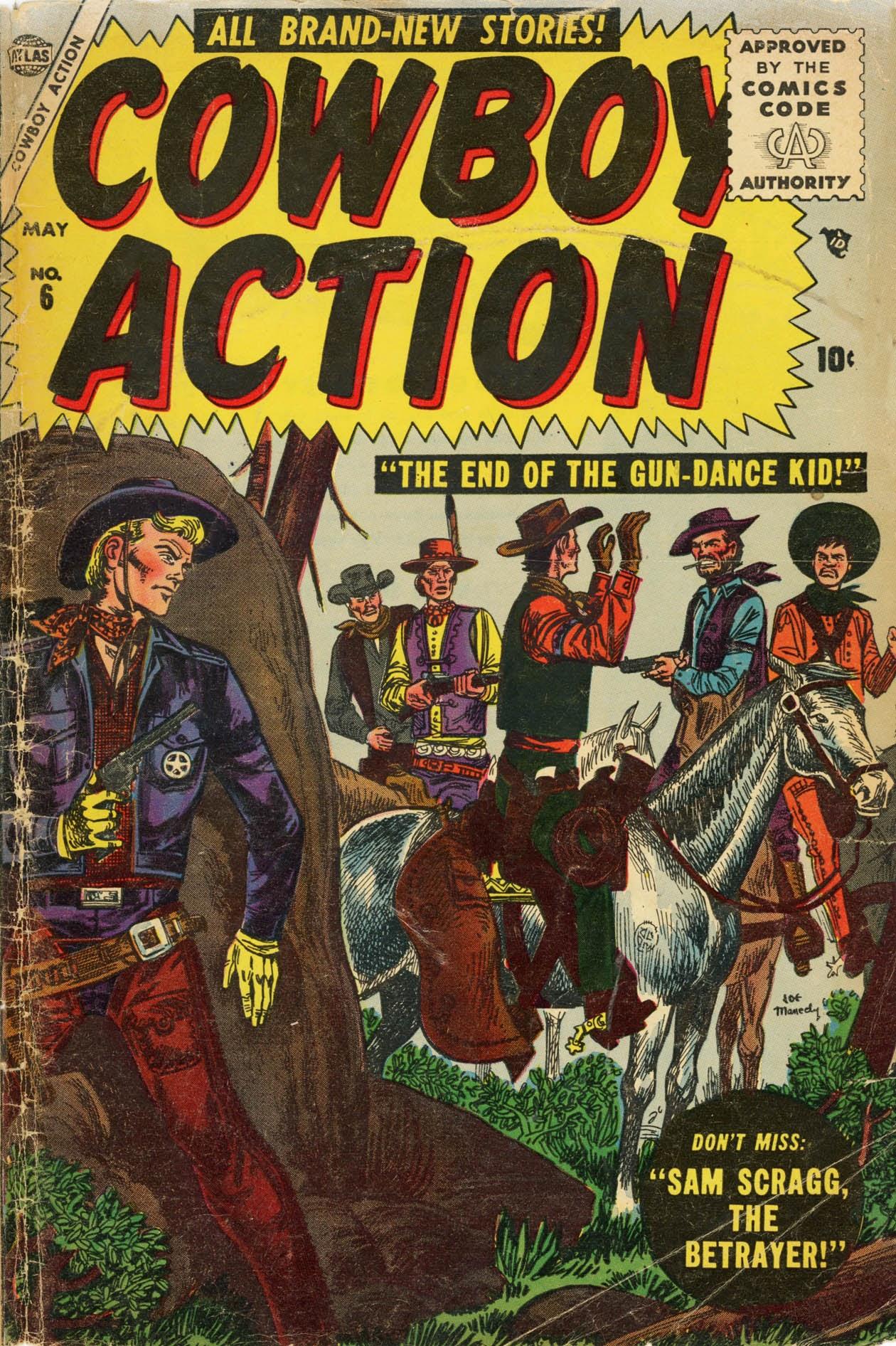 Cowboy Action 6 Page 1