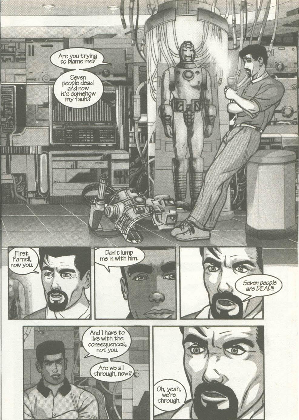 Read online U.S. War Machine comic -  Issue #2 - 5