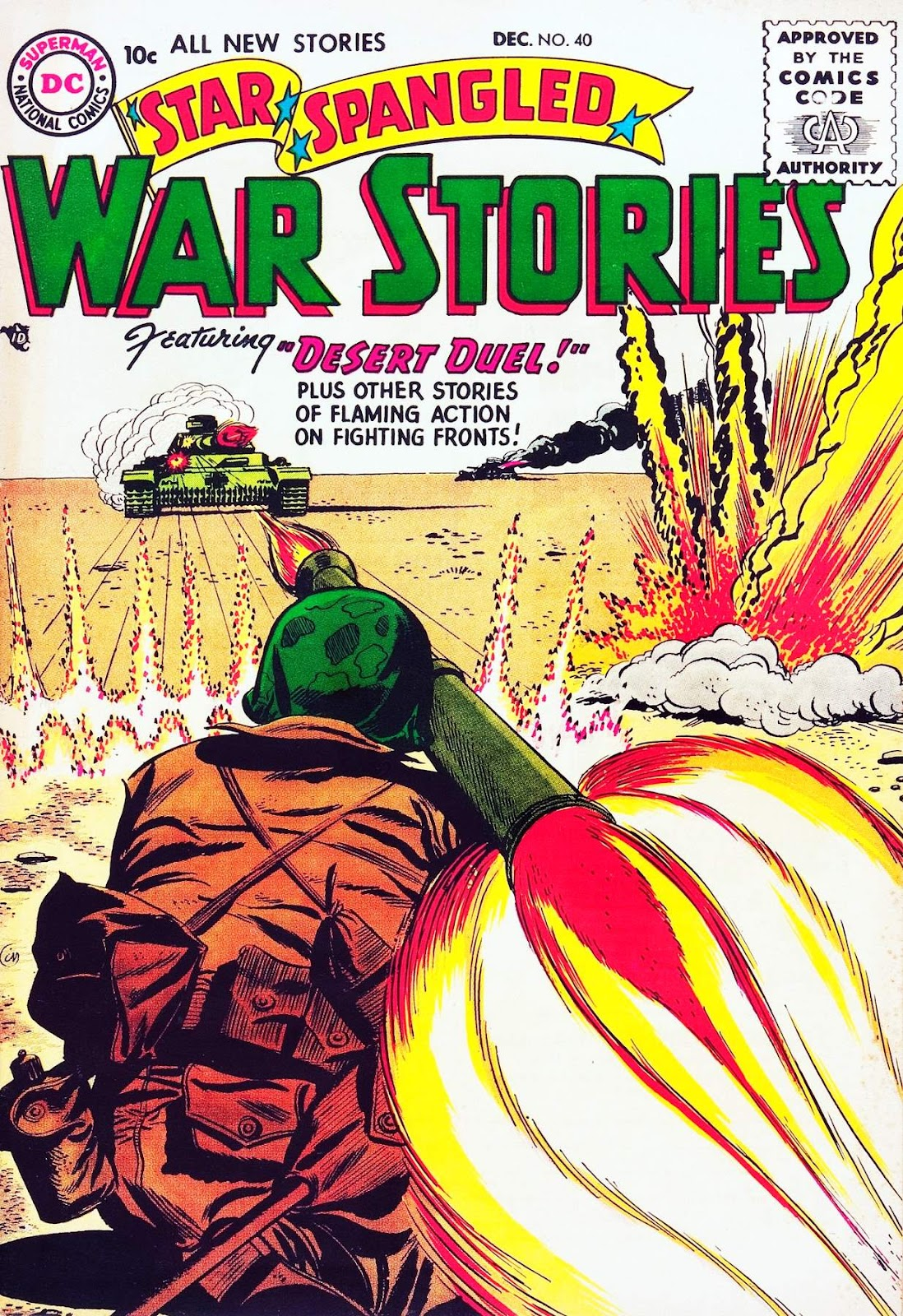 Star Spangled War Stories (1952) issue 40 - Page 1