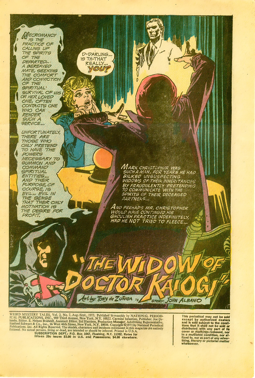 Weird Mystery Tales issue 7 - Page 3