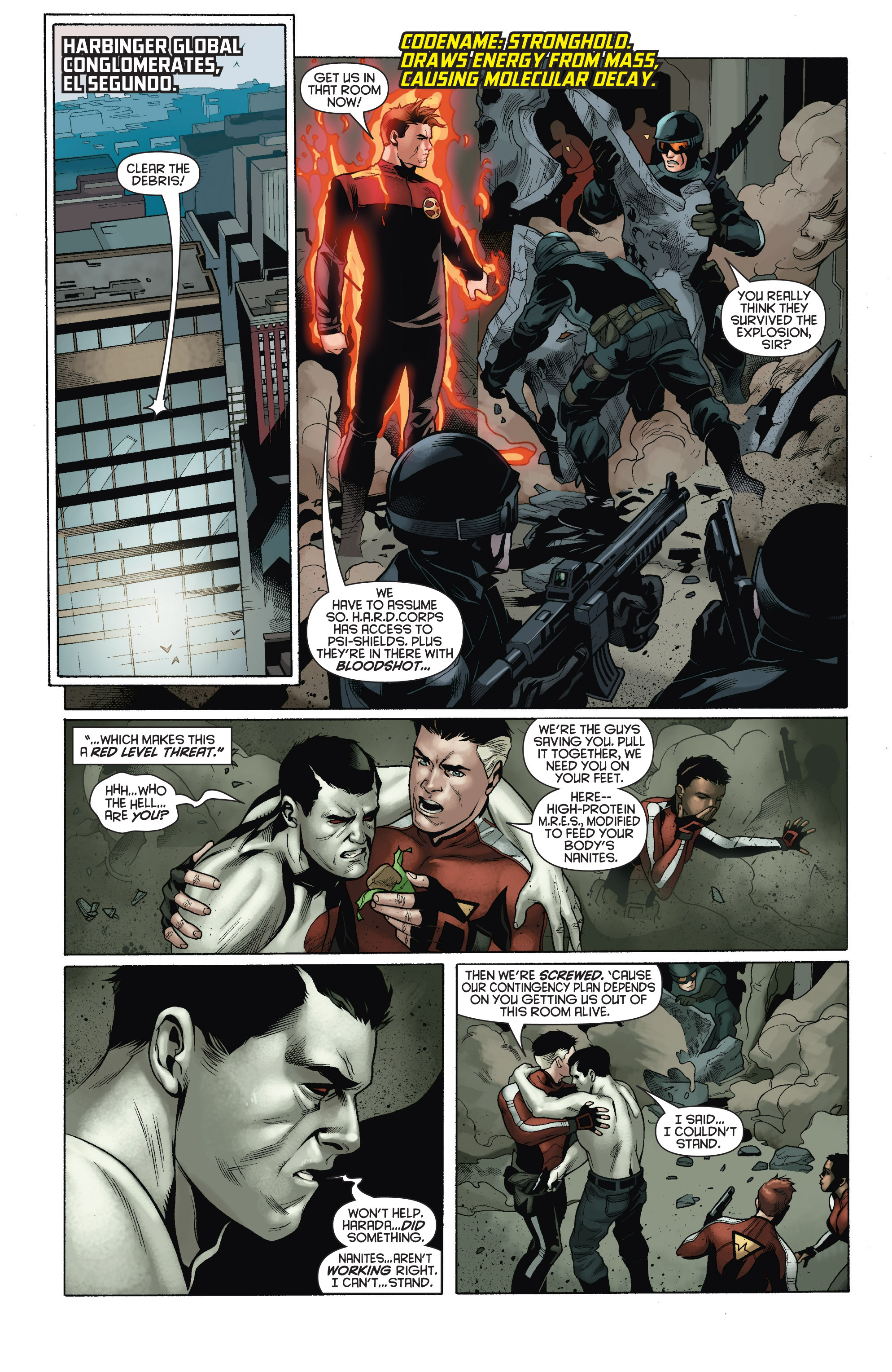 Read online Bloodshot and H.A.R.D.Corps comic -  Issue # TPB 4 - 31