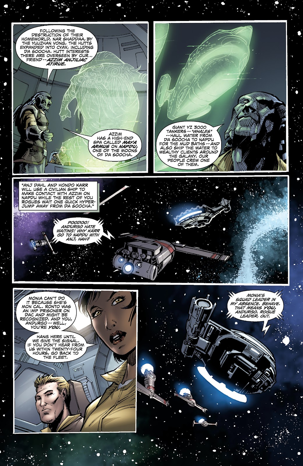 Read online Star Wars Legends: Legacy - Epic Collection comic -  Issue # TPB 2 (Part 5) - 21